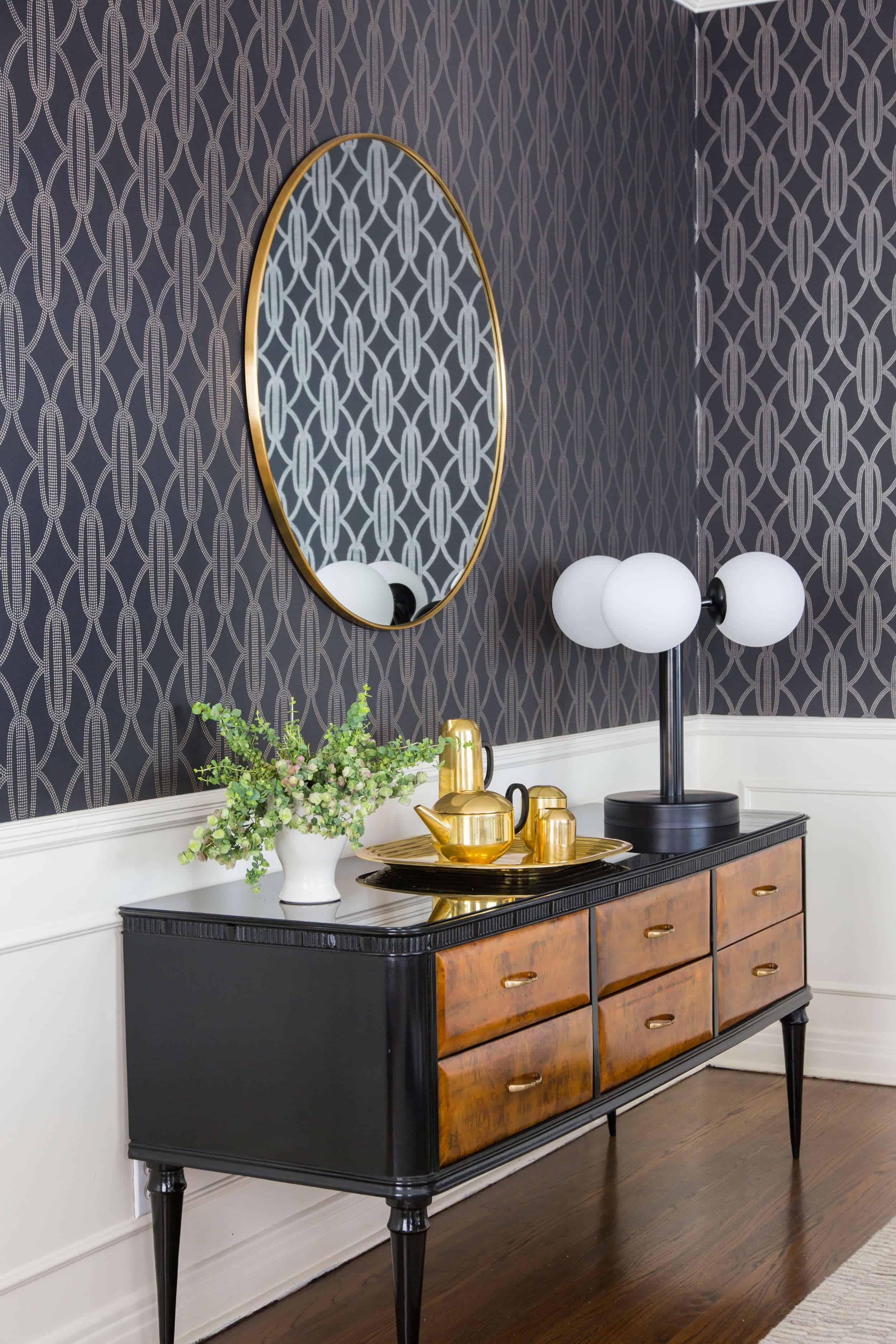 Emily Henderson Griffith Park House Traditional Italian Modern Dining Room Reveal 01