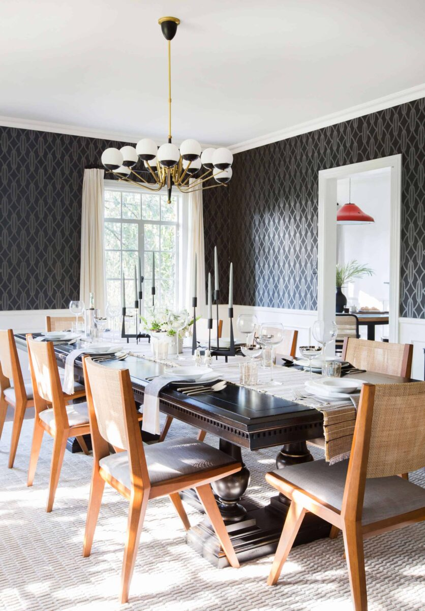 Emily Henderson Griffith Park House Traditional Italian Modern Dining Room Reveal 03