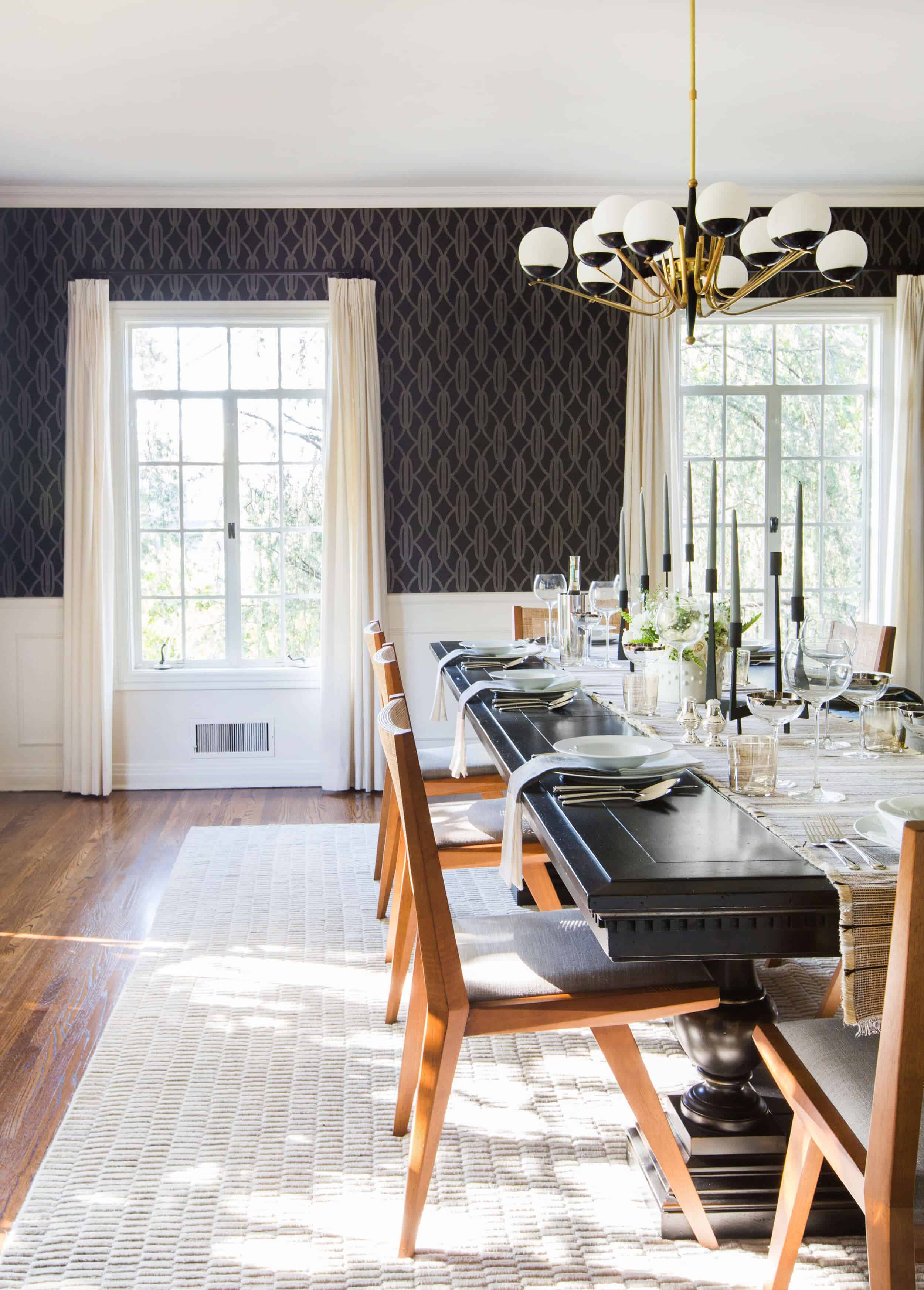 Emily Henderson Griffith Park House Traditional Italian Modern Dining Room Reveal 04