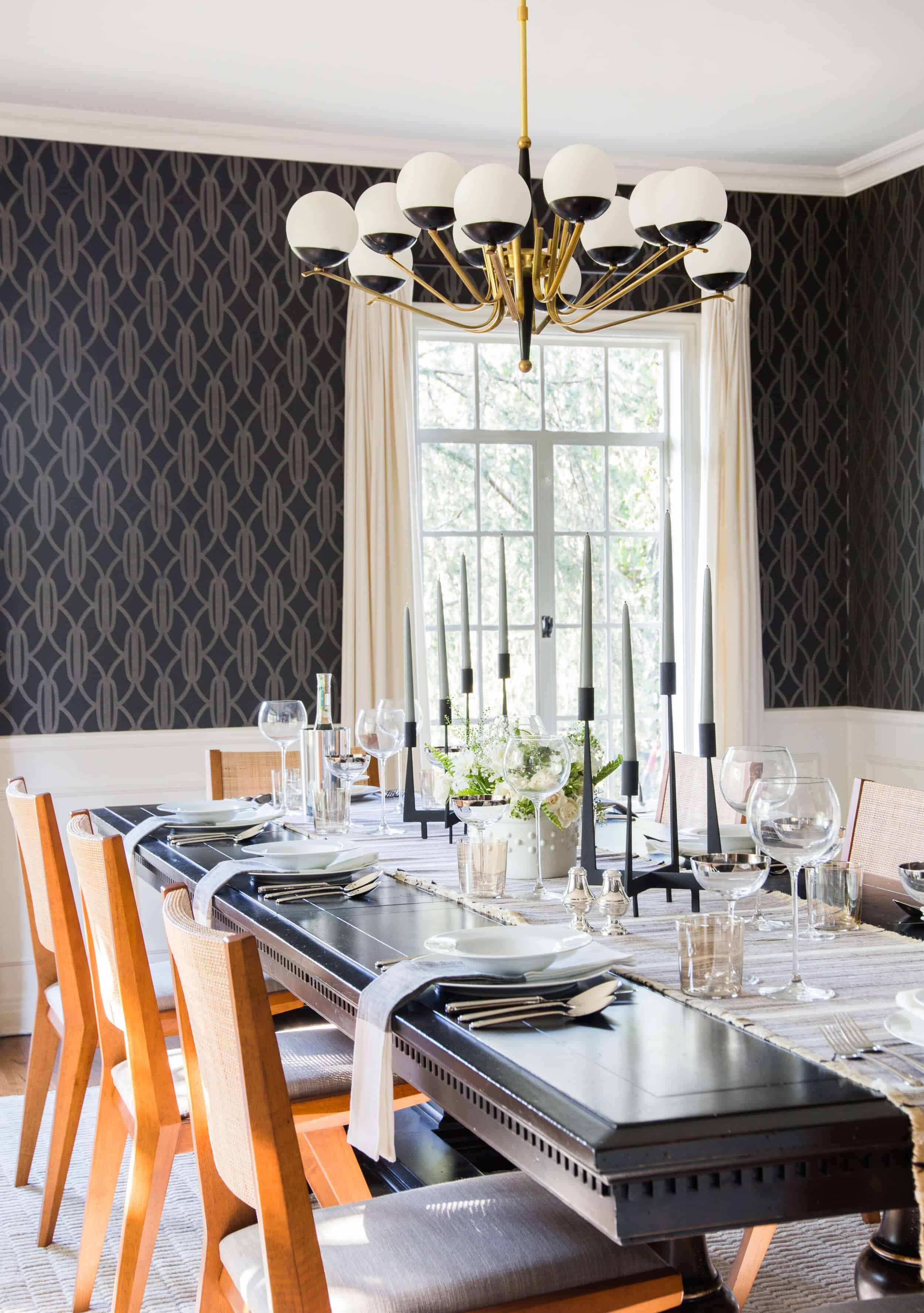 Emily Henderson Griffith Park House Traditional Italian Modern Dining Room Reveal 051