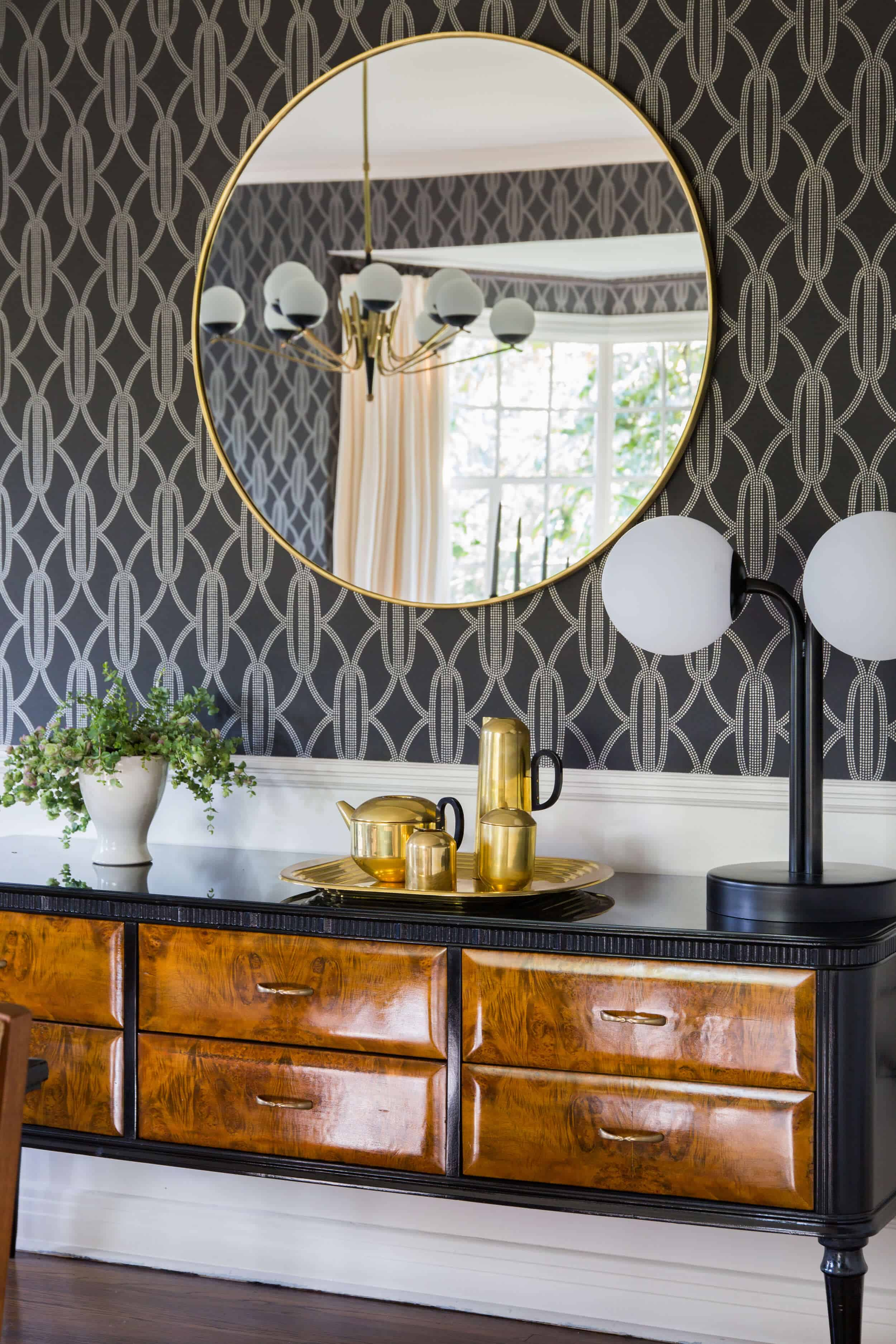 Emily Henderson Griffith Park House Traditional Italian Modern Dining Room Reveal 06