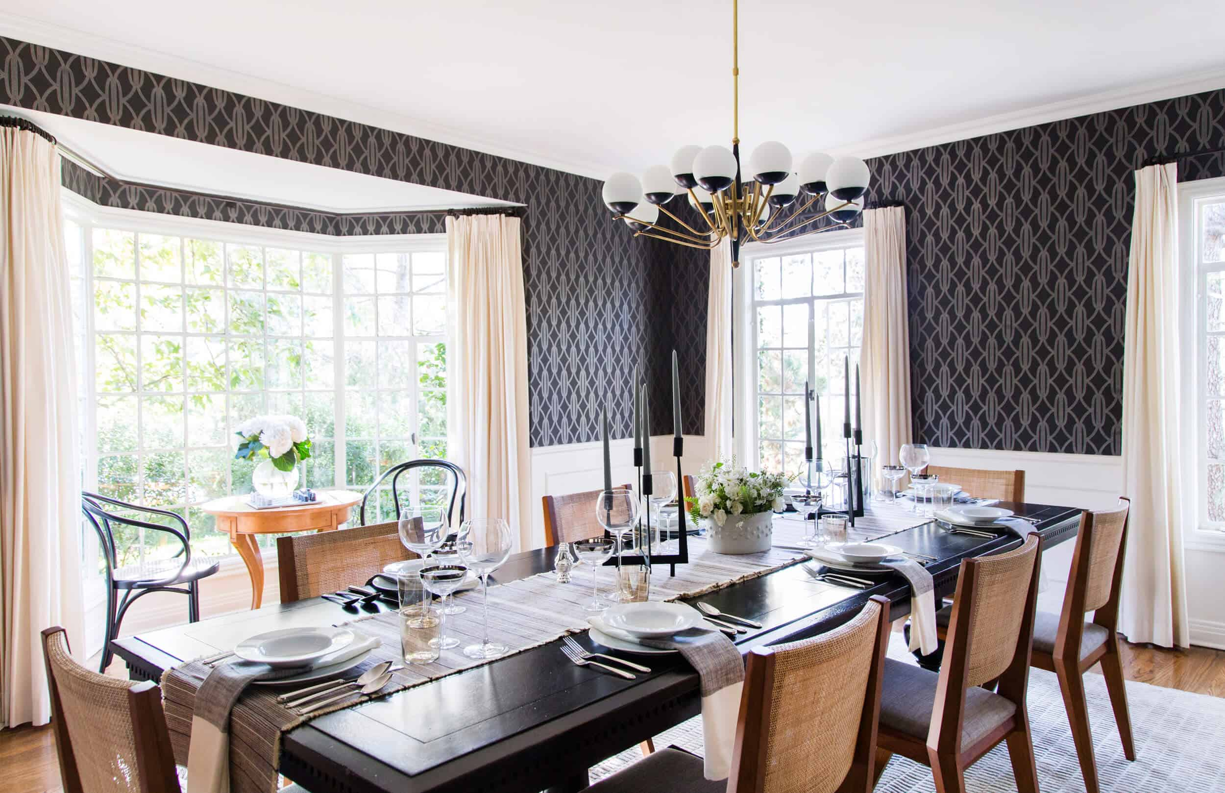 Emily Henderson Griffith Park House Traditional Italian Modern Dining Room Reveal 07