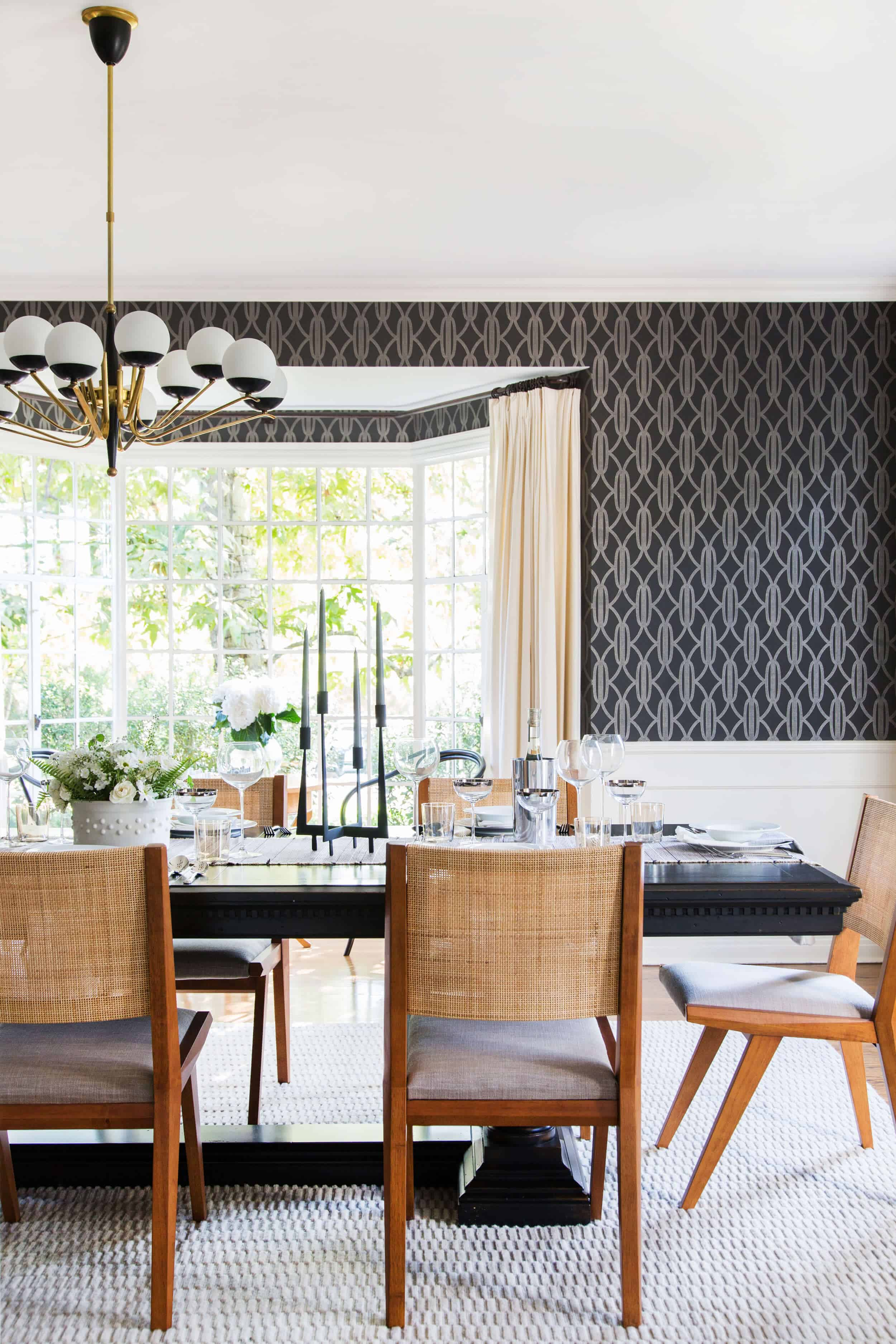 Emily Henderson Griffith Park House Traditional Italian Modern Dining Room Reveal 08