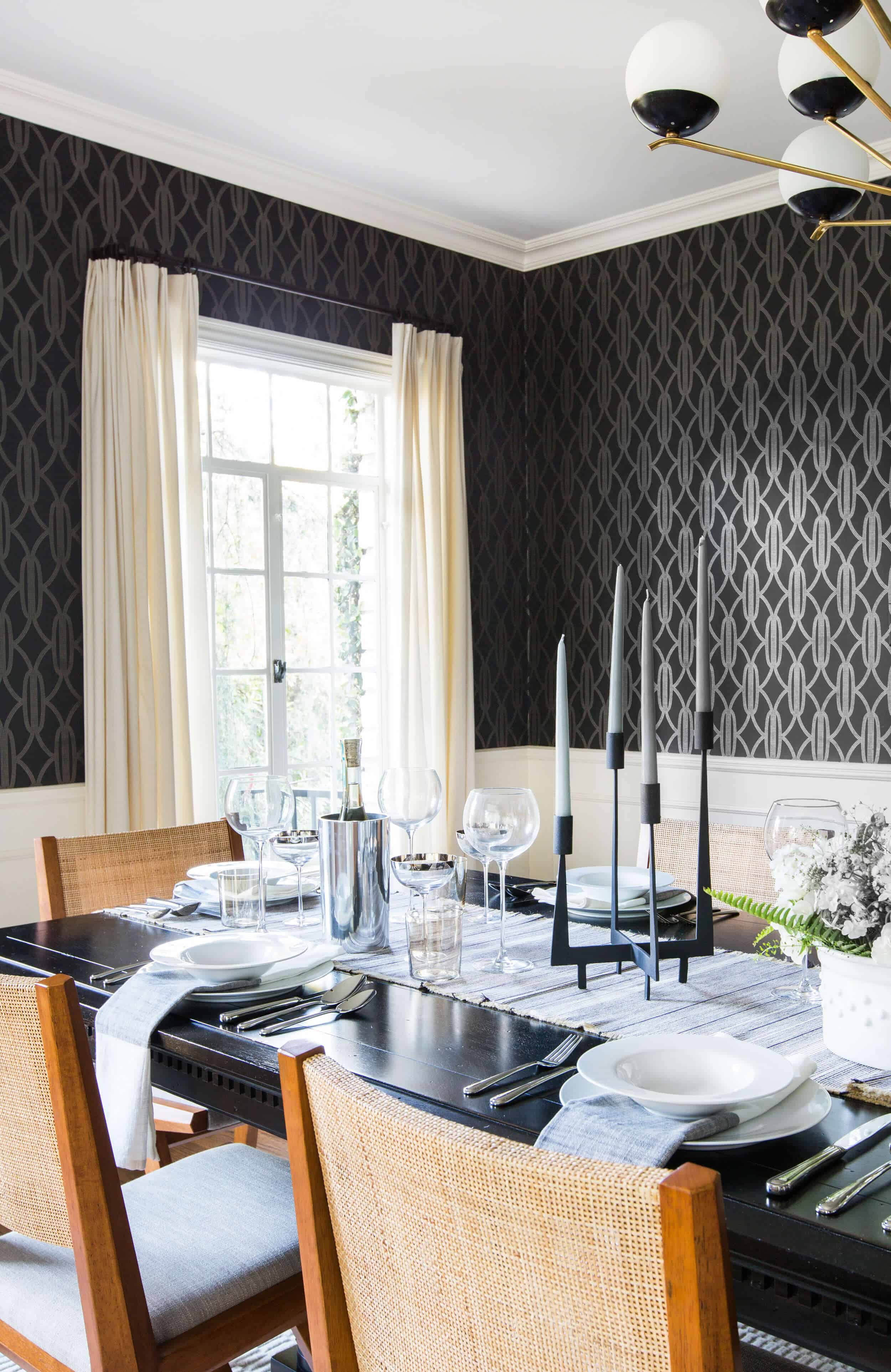 Emily Henderson Griffith Park House Traditional Italian Modern Dining Room Reveal 13