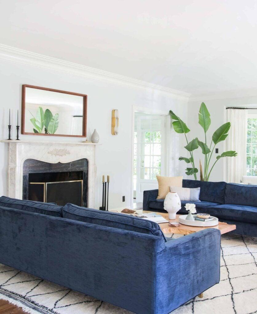 Emily Henderson Griffith Park House Traditional Italian Modern Living Room Reveal 05