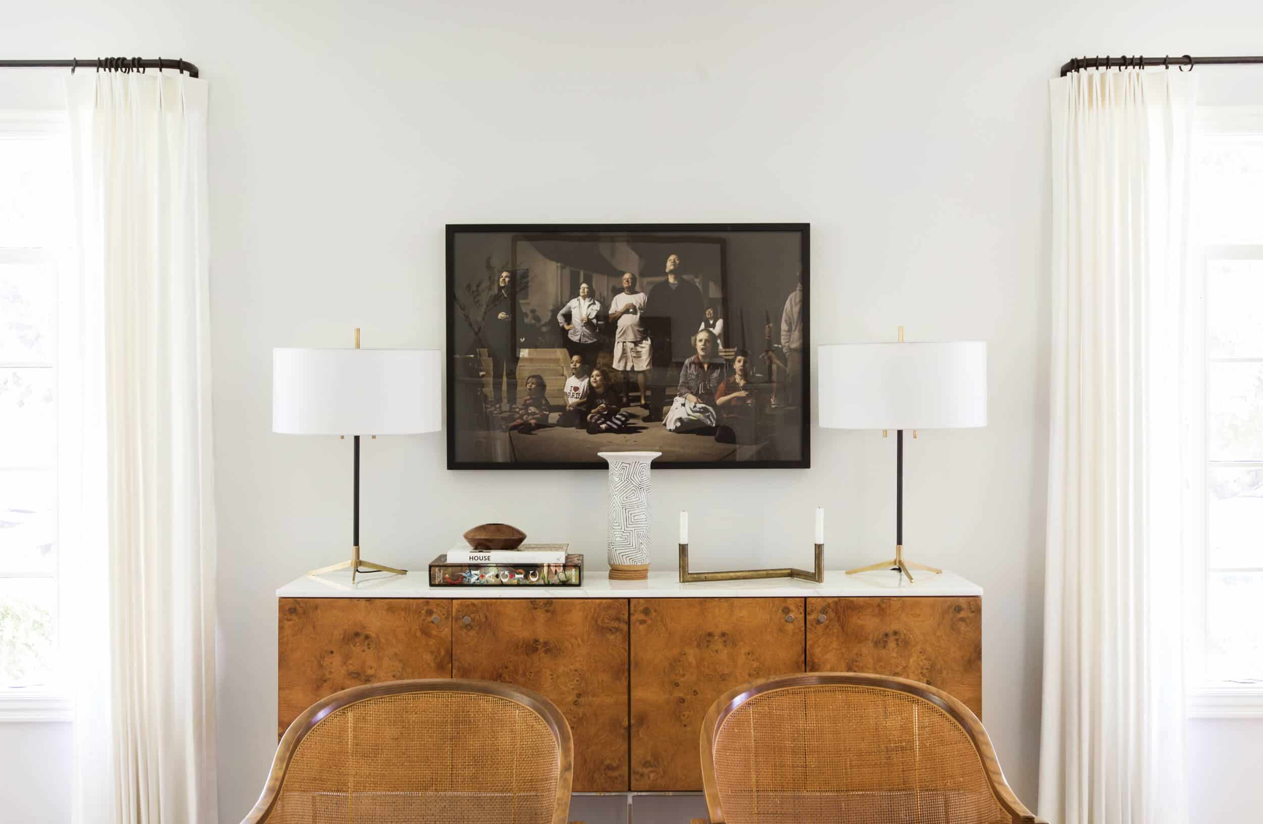 Emily Henderson Griffith Park House Traditional Italian Modern Living Room Reveal 14