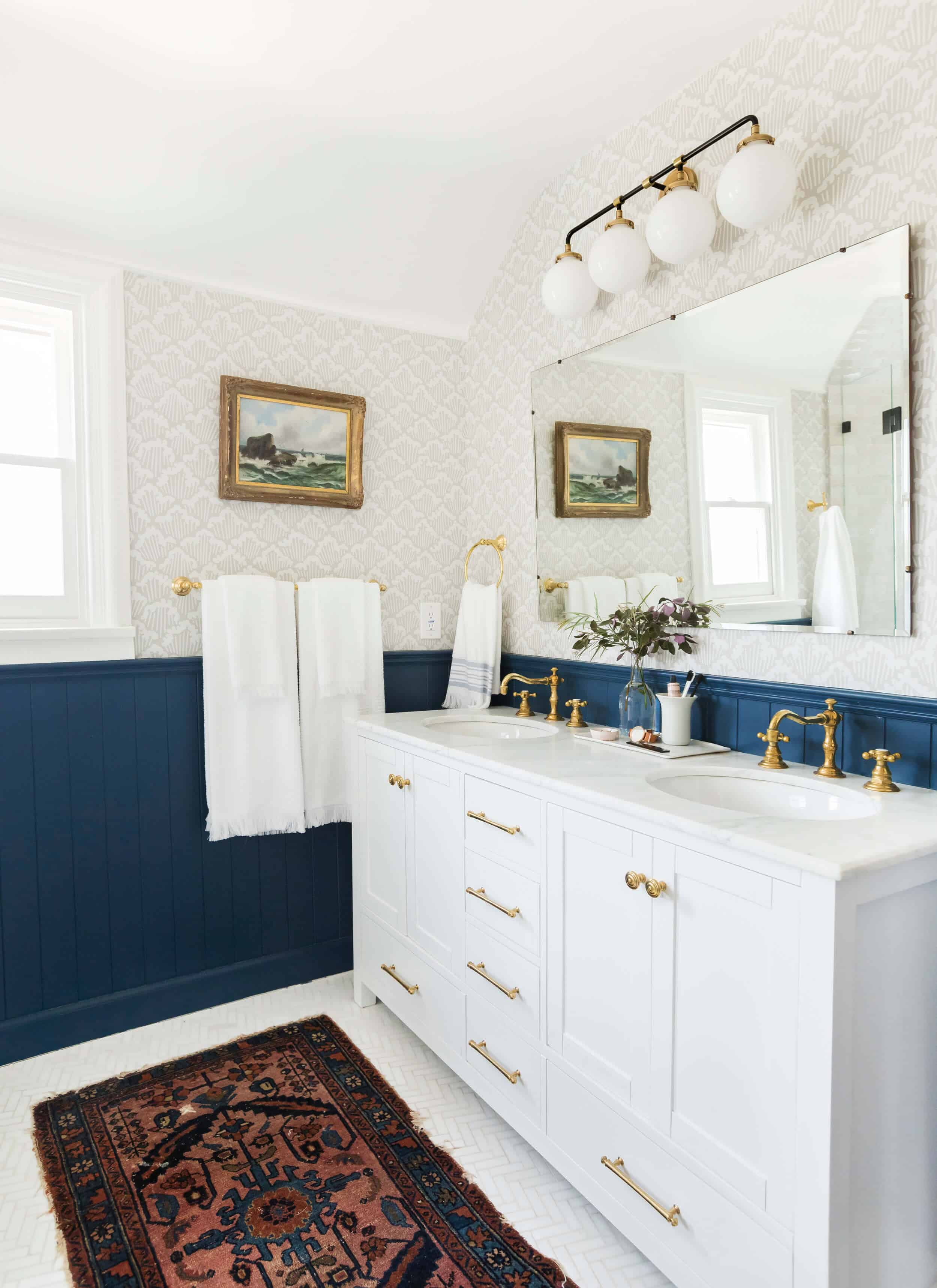 Emily Henderson Modern English Cottage Tudor Master Bathroom Reveal10 Edited