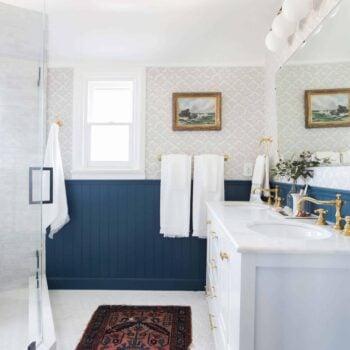 Emily Henderson Modern English Cottage Tudor Master Bathroom Reveal17 Edited 1