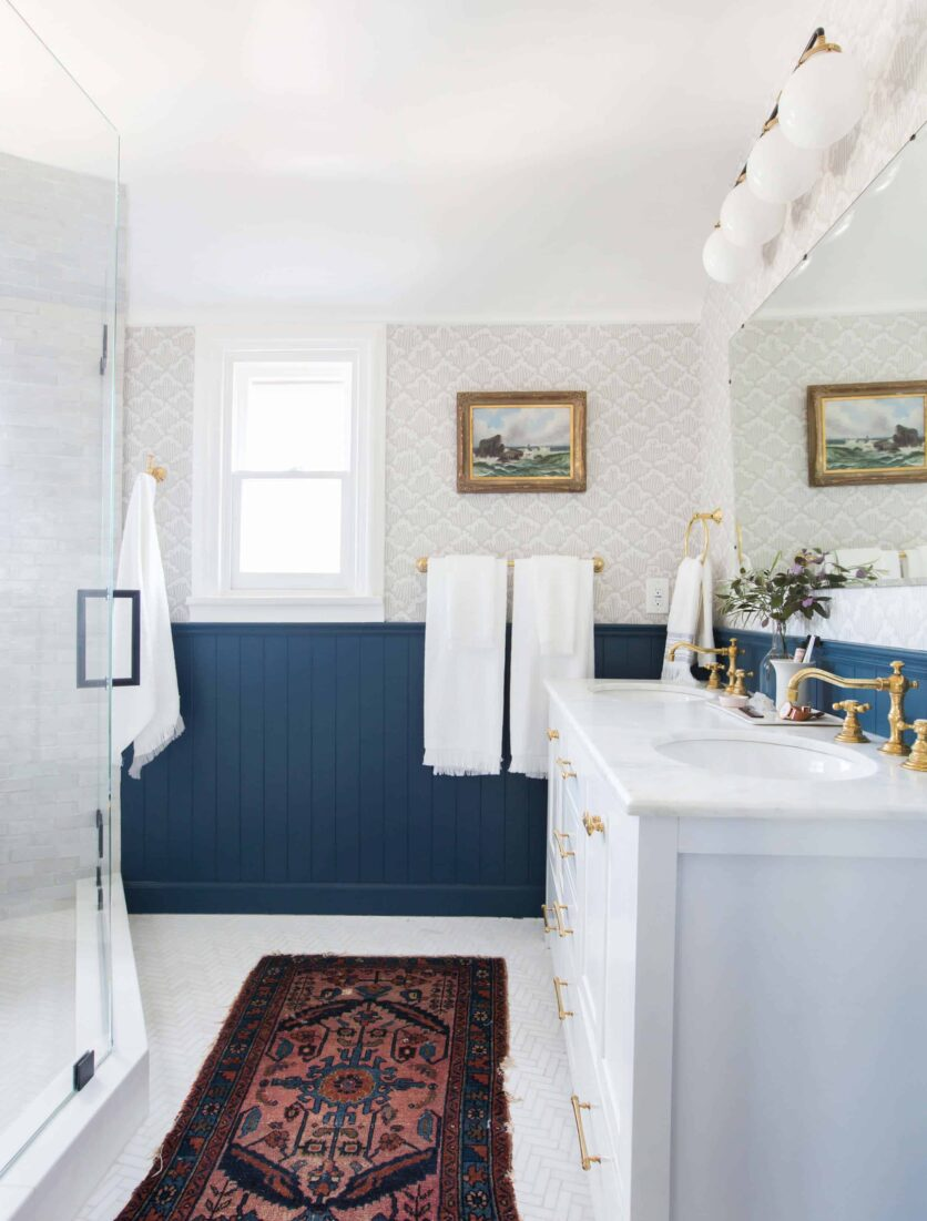 Emily Henderson Modern English Cottage Tudor Master Bathroom Reveal17 Edited 1