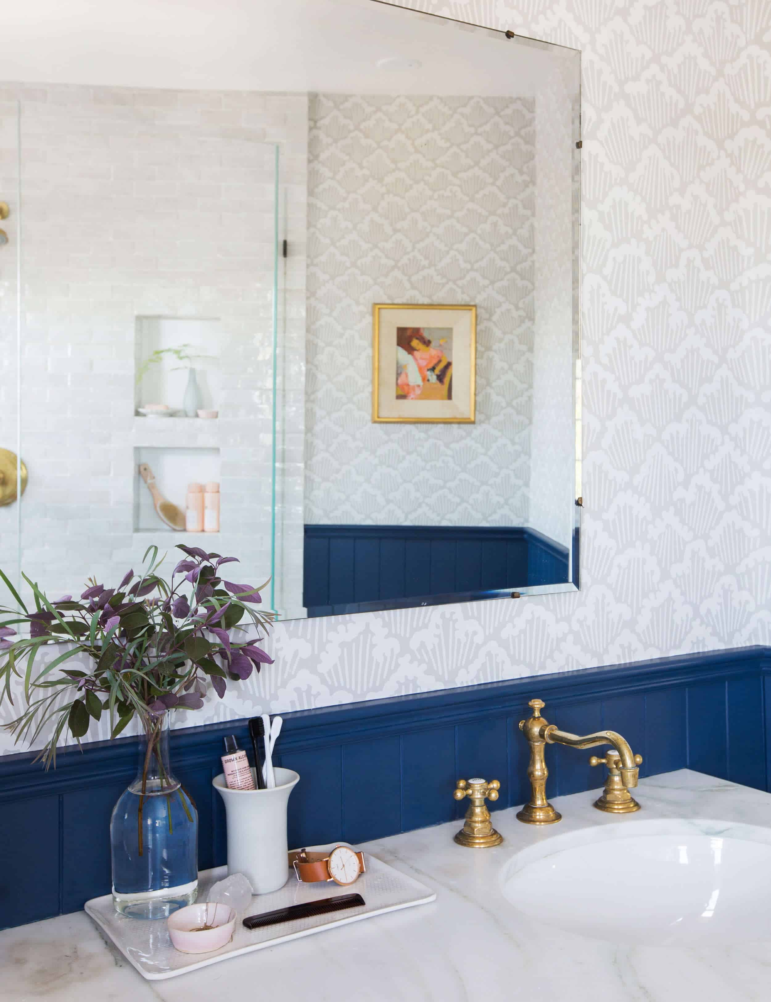 Emily Henderson Modern English Cottage Tudor Master Bathroom Reveal1 Edited 1
