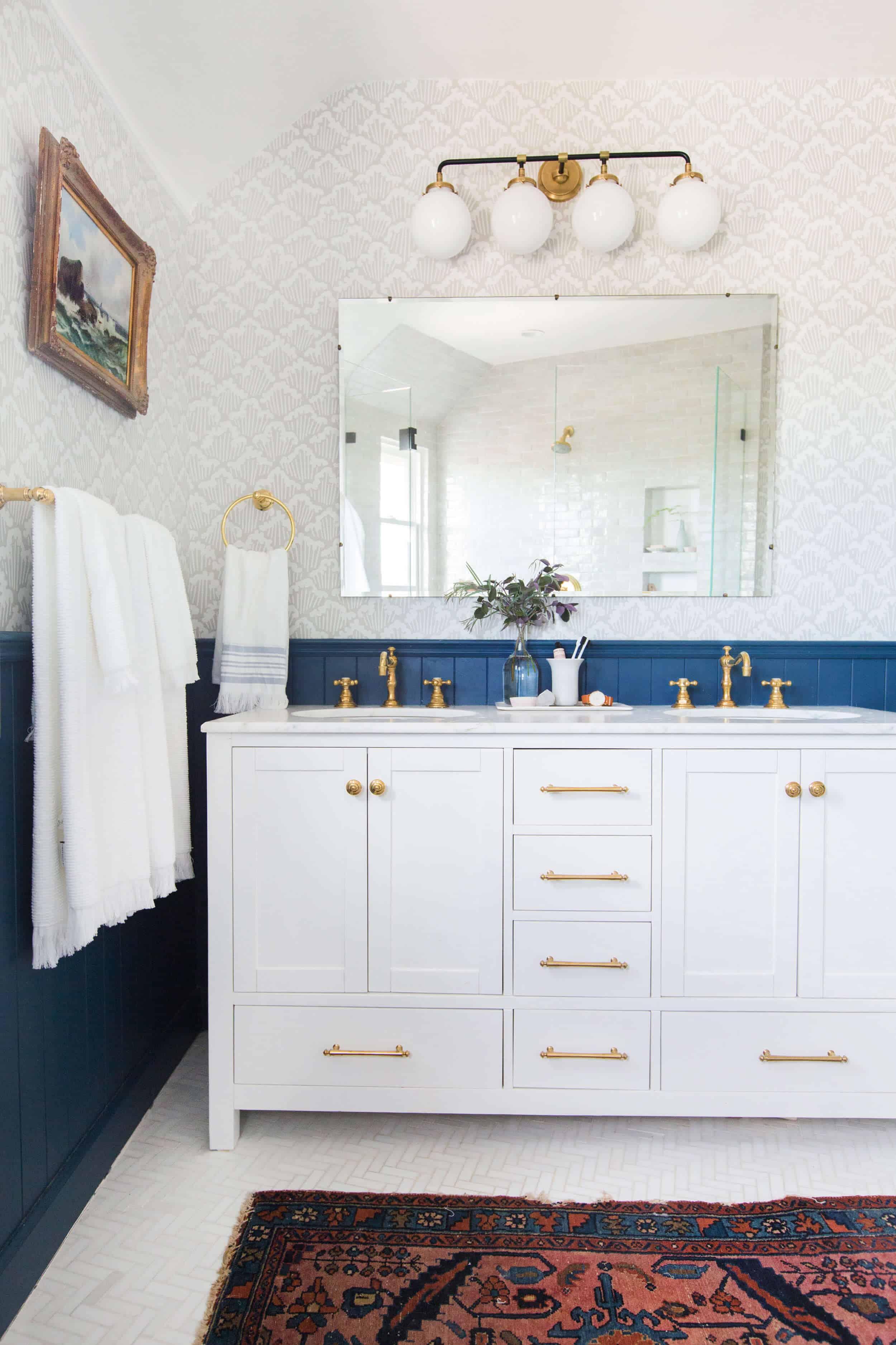 Emily Henderson Modern English Cottage Tudor Master Bathroom Reveal5 Edited