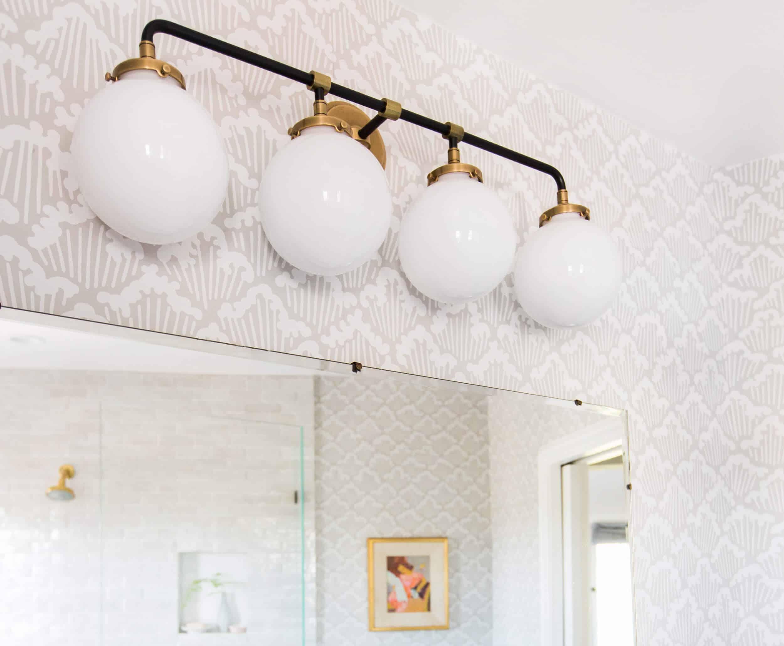 Emily Henderson Modern English Cottage Tudor Master Bathroom Reveal6