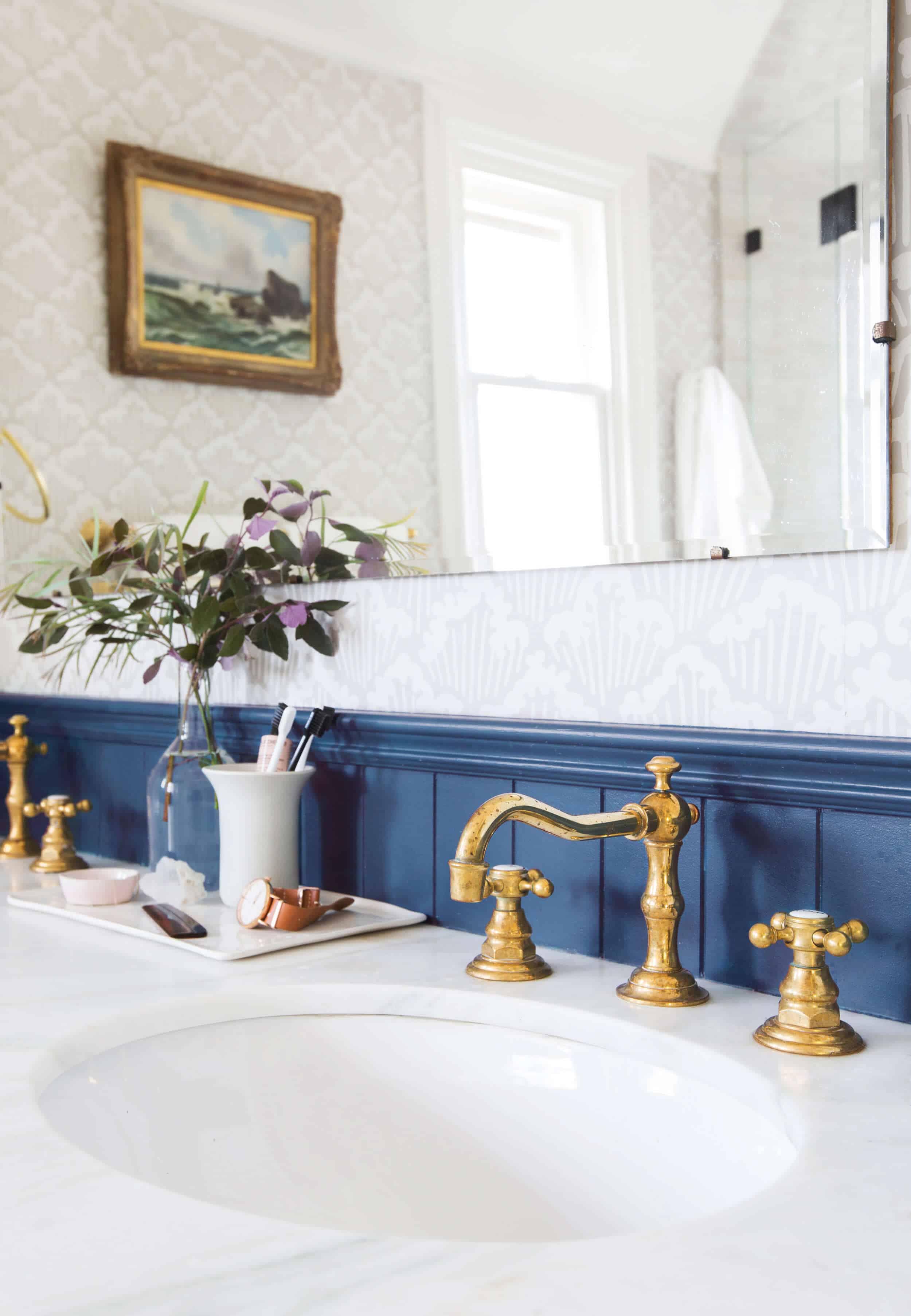 Emily Henderson Modern English Cottage Tudor Master Bathroom Reveal9 Edited