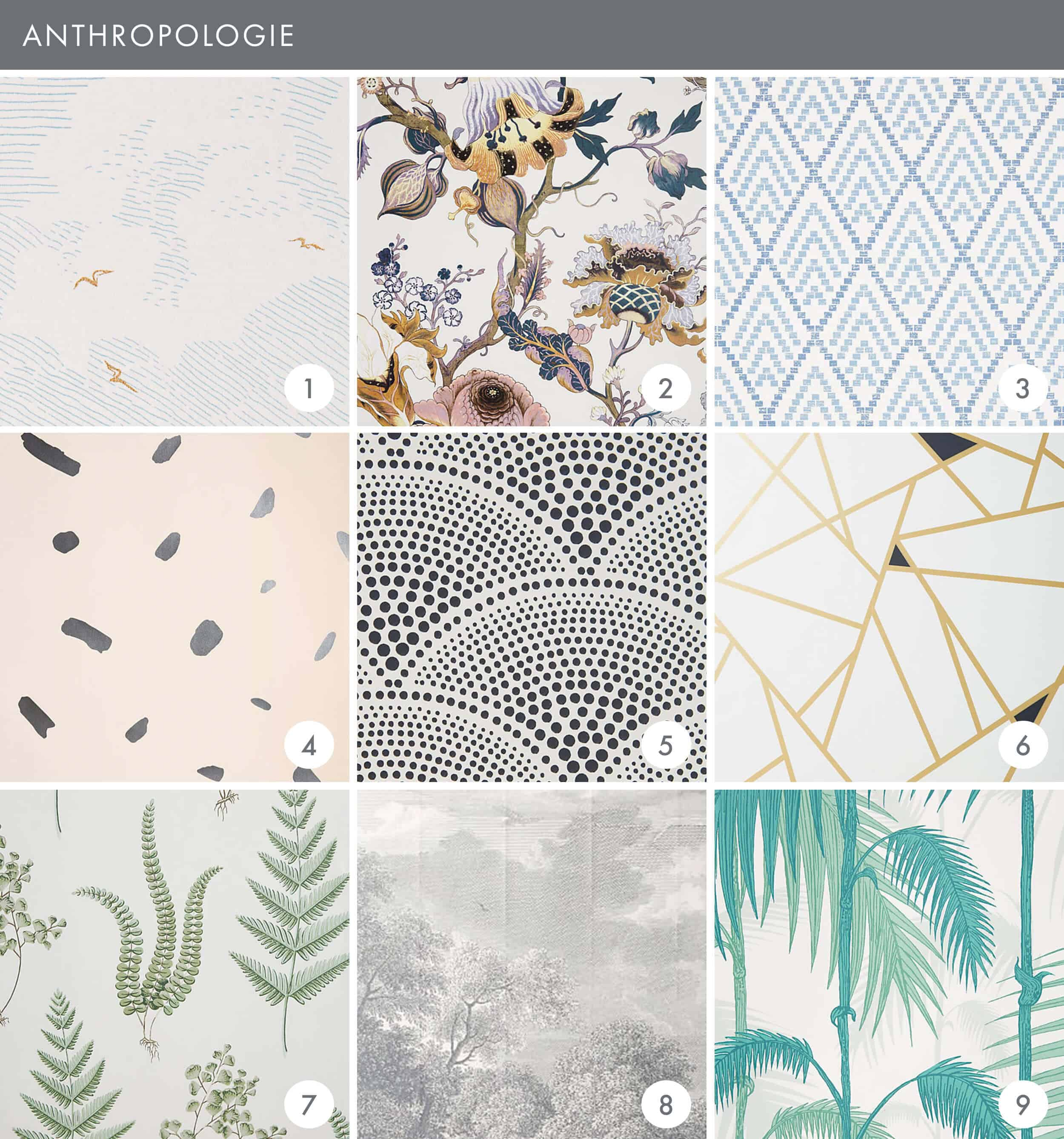 Emily Henderson Online Wallpaper Roundup Anthropologie