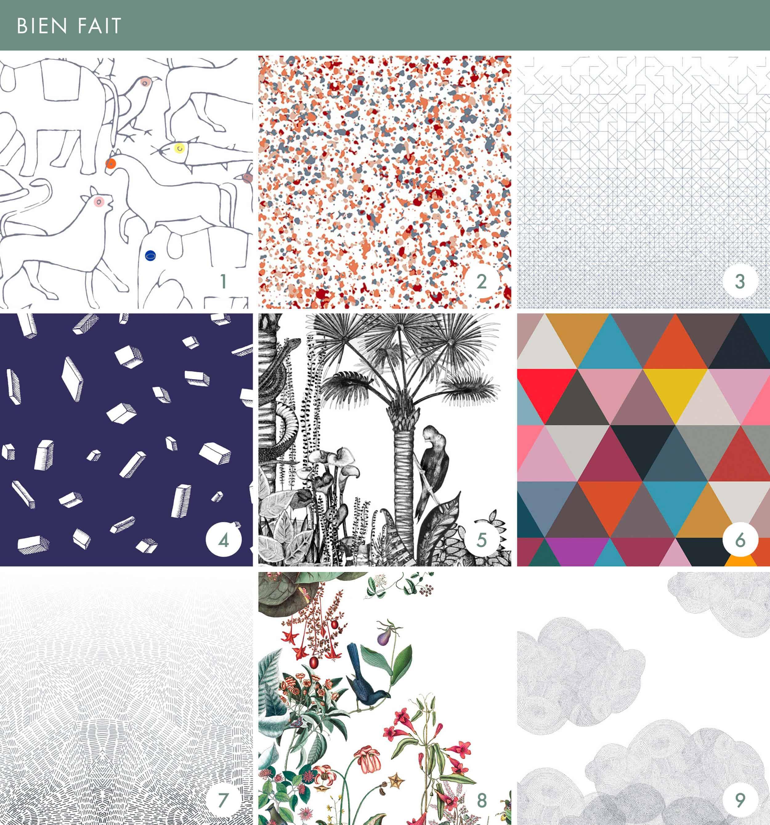 Emily Henderson Online Wallpaper Roundup Bien Fait