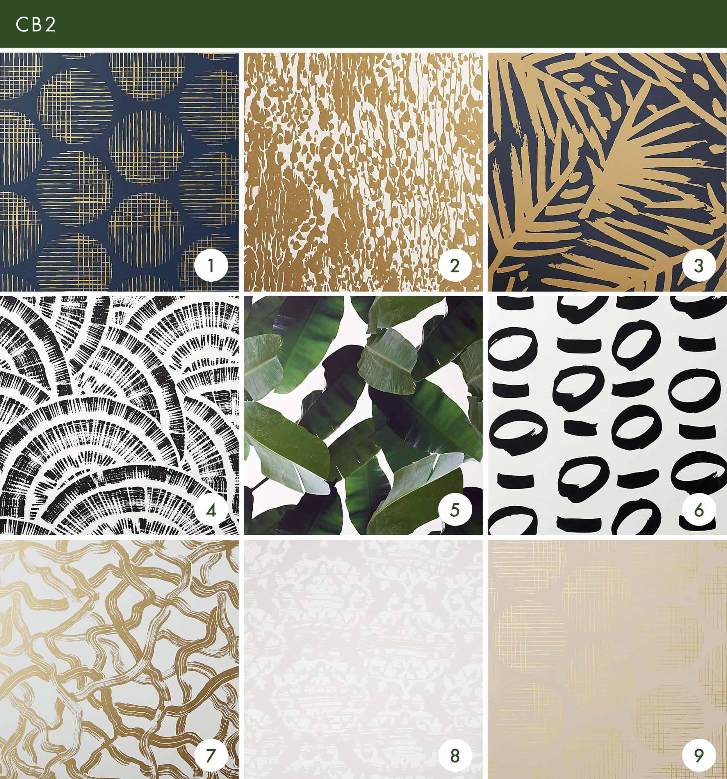 Emily Henderson Online Wallpaper Roundup Cb2