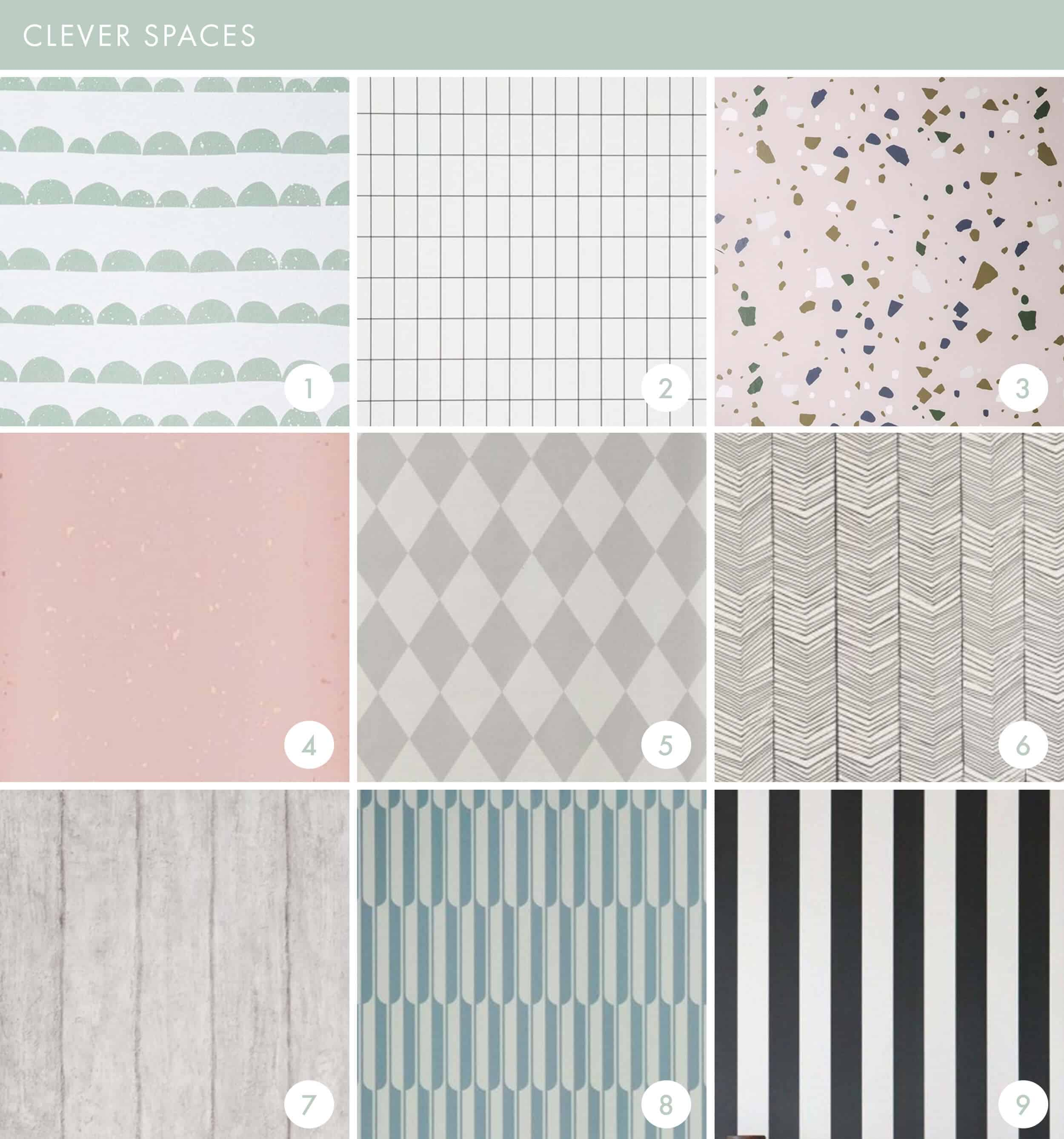 Emily Henderson Online Wallpaper Roundup Clever Spaces