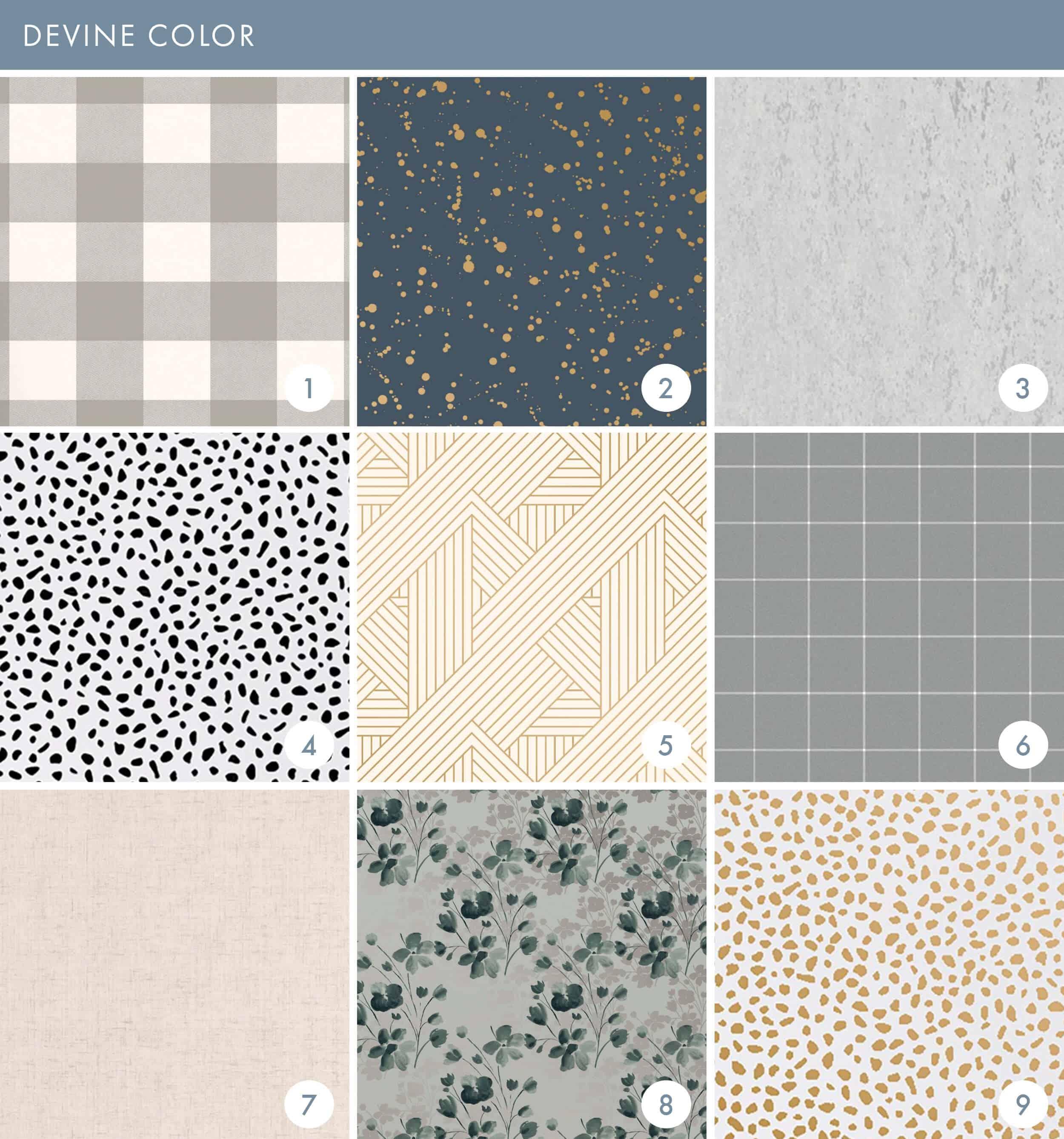 Emily Henderson Online Wallpaper Roundup Devine Color