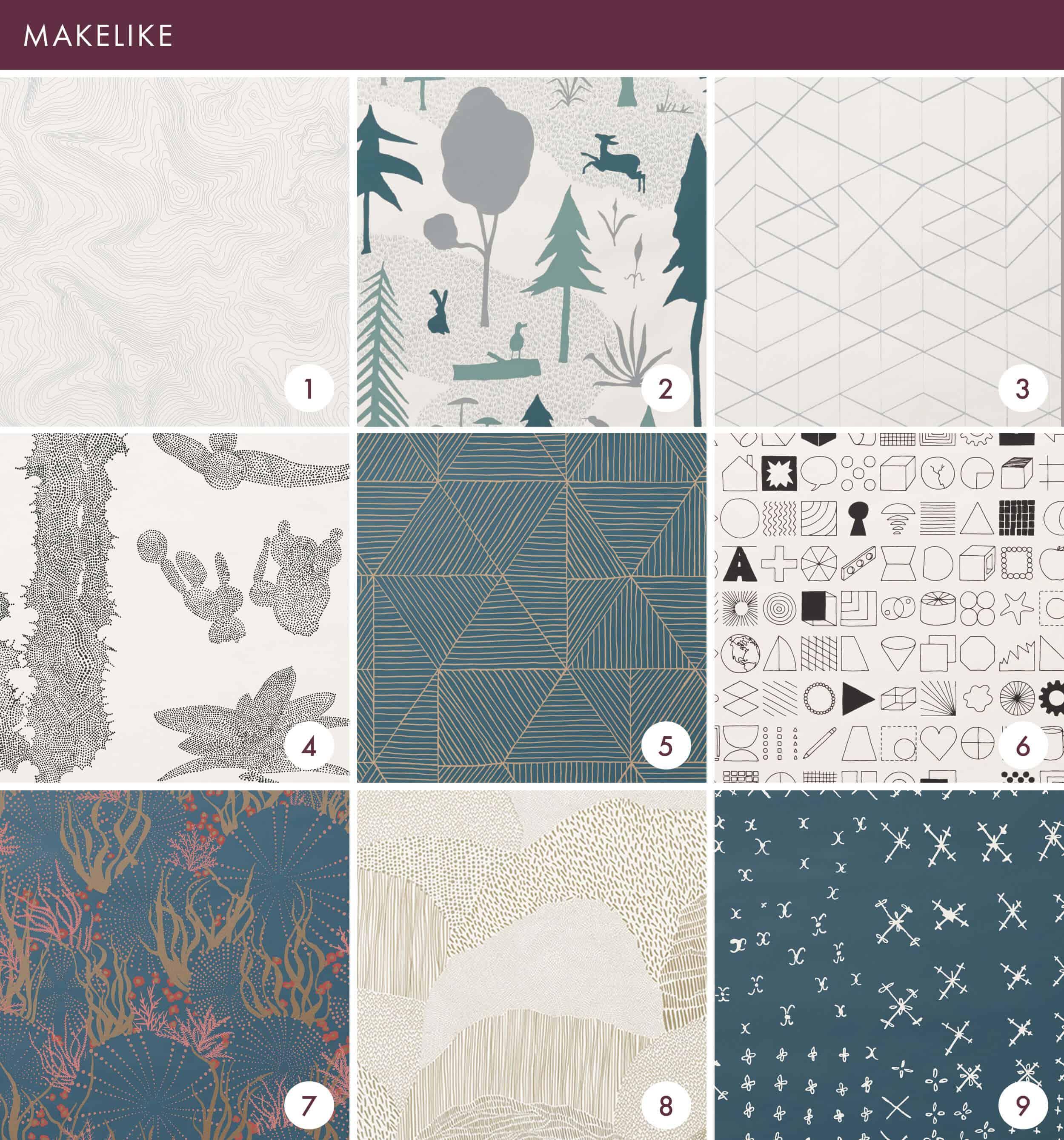 Emily Henderson Online Wallpaper Roundup Makelike