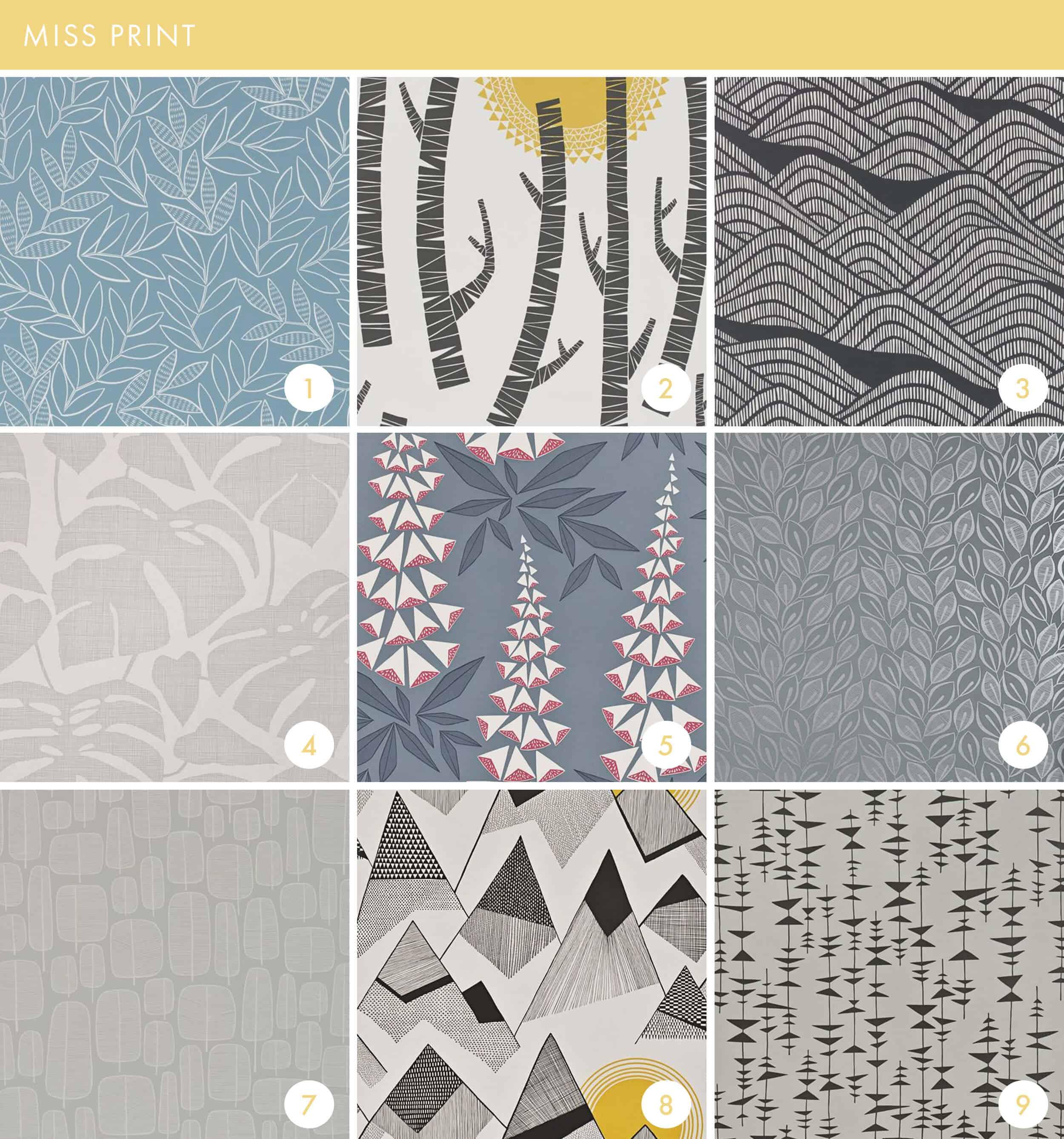 Emily Henderson Online Wallpaper Roundup Miss Print