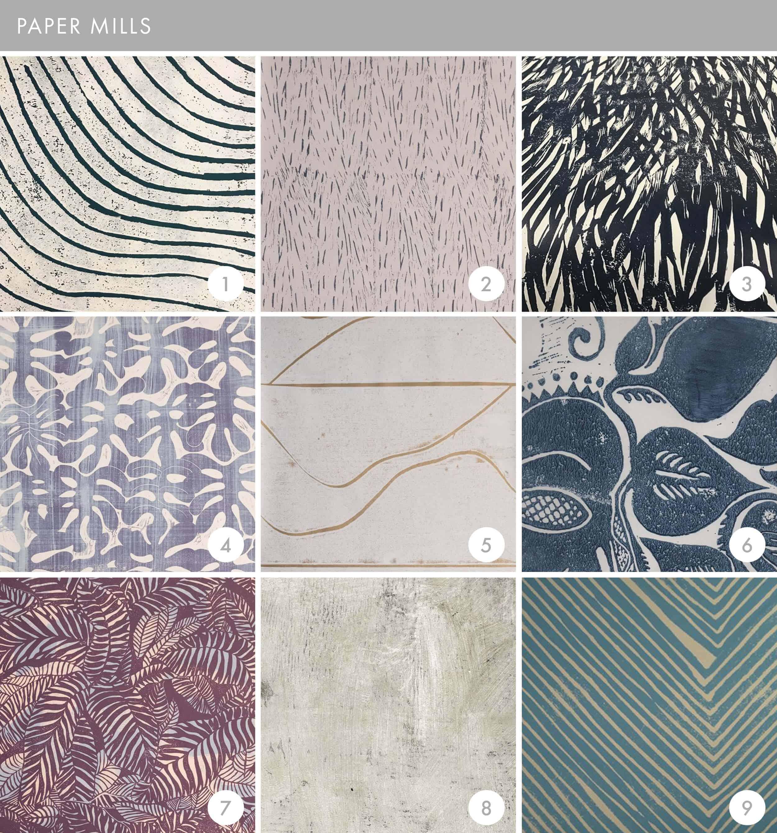 Emily Henderson Online Wallpaper Roundup Paper Mills
