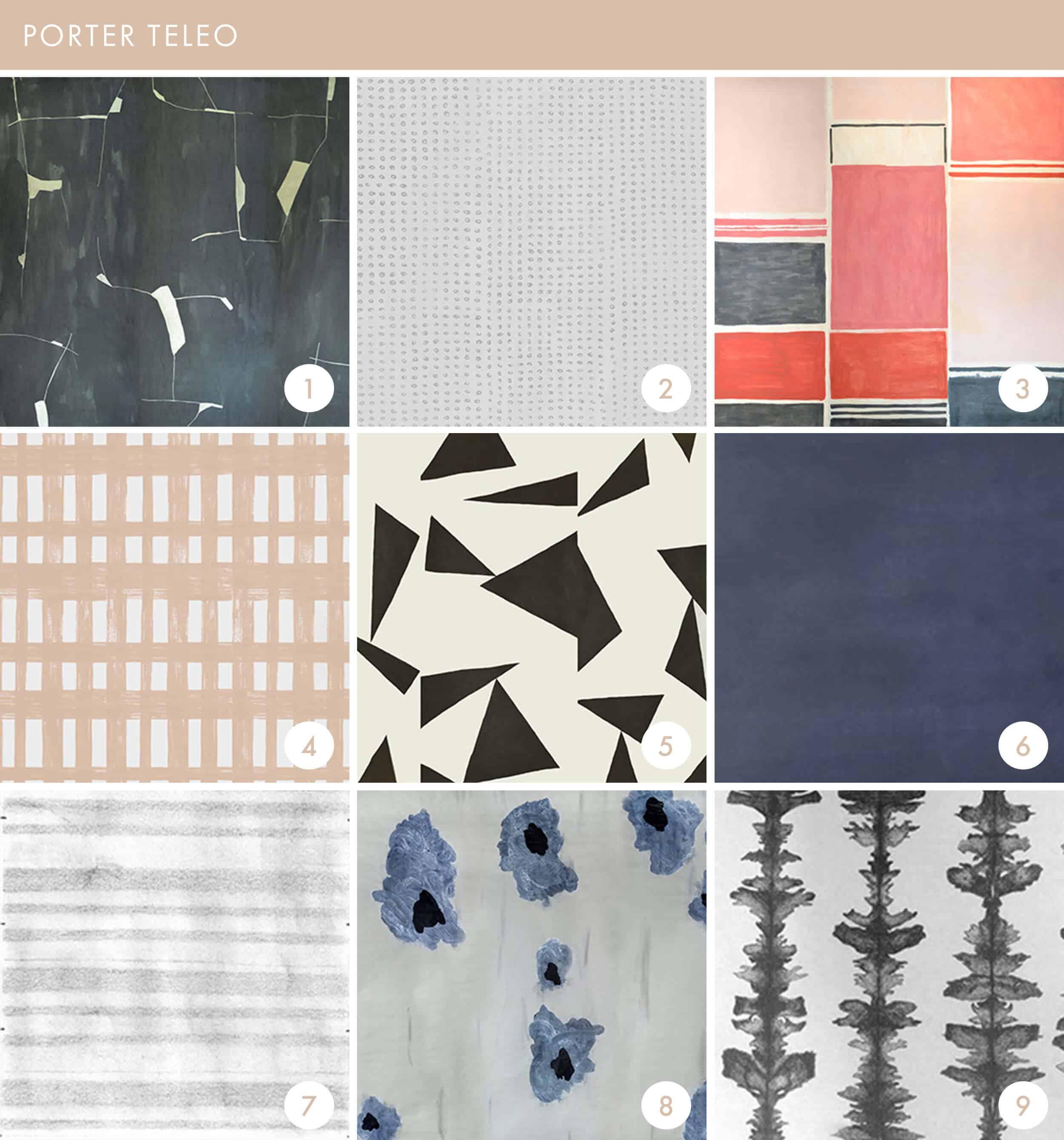 Emily Henderson Online Wallpaper Roundup Porto Teleo