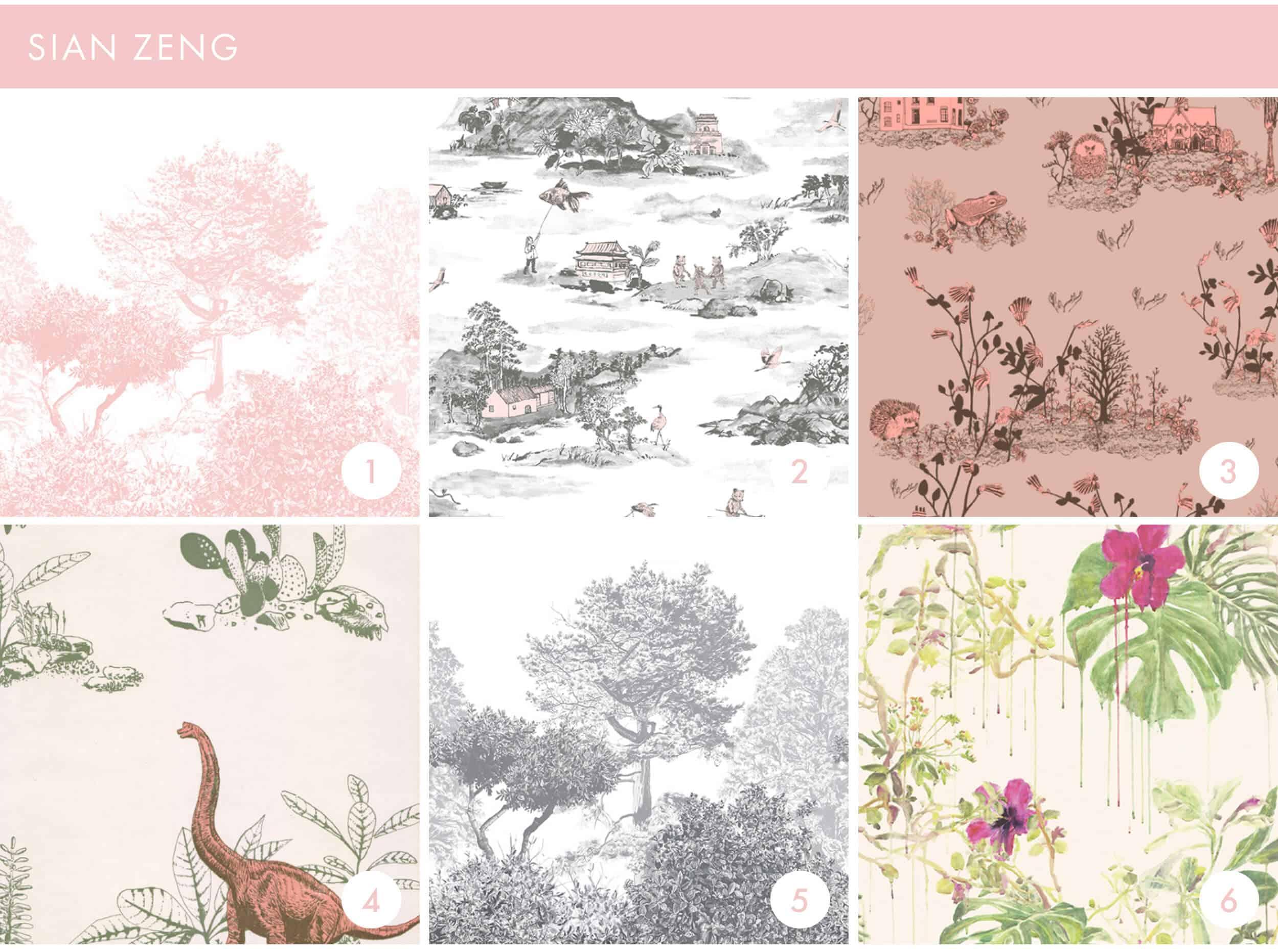 Emily Henderson Online Wallpaper Roundup Sian Zeng