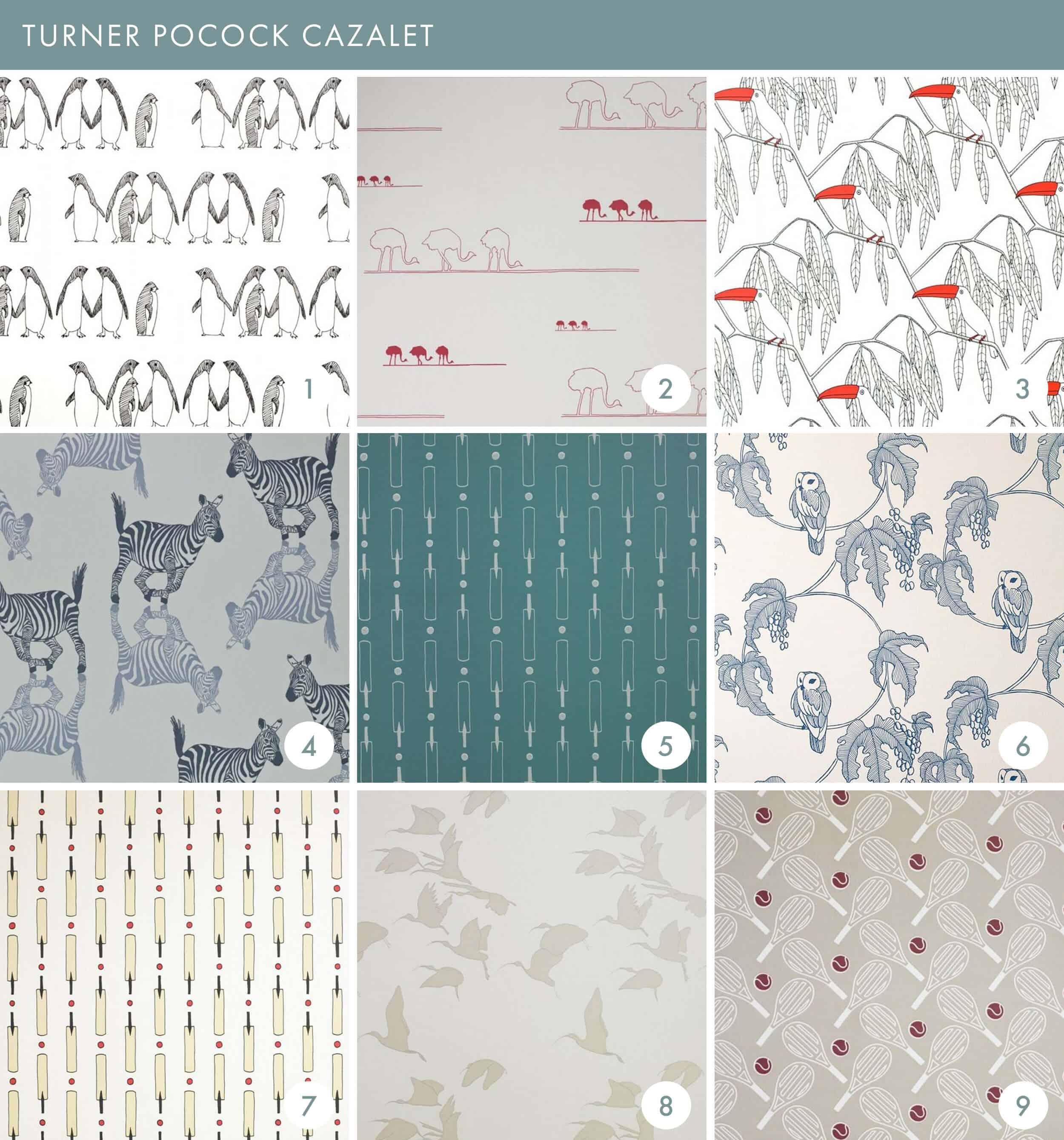 Emily Henderson Online Wallpaper Roundup Turner Pocock Cazalet