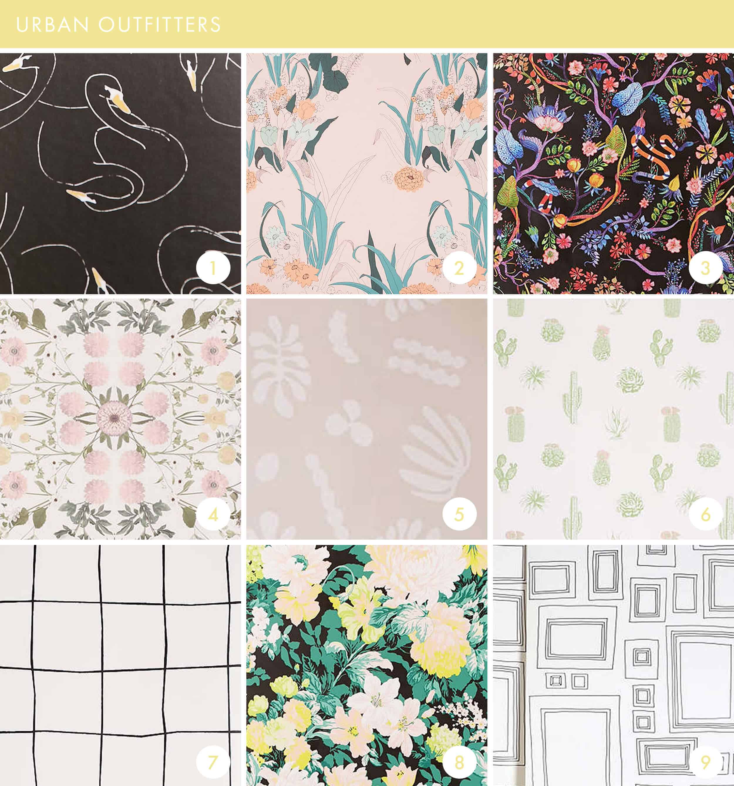 Emily Henderson Online Wallpaper Roundup Urban Outfitters