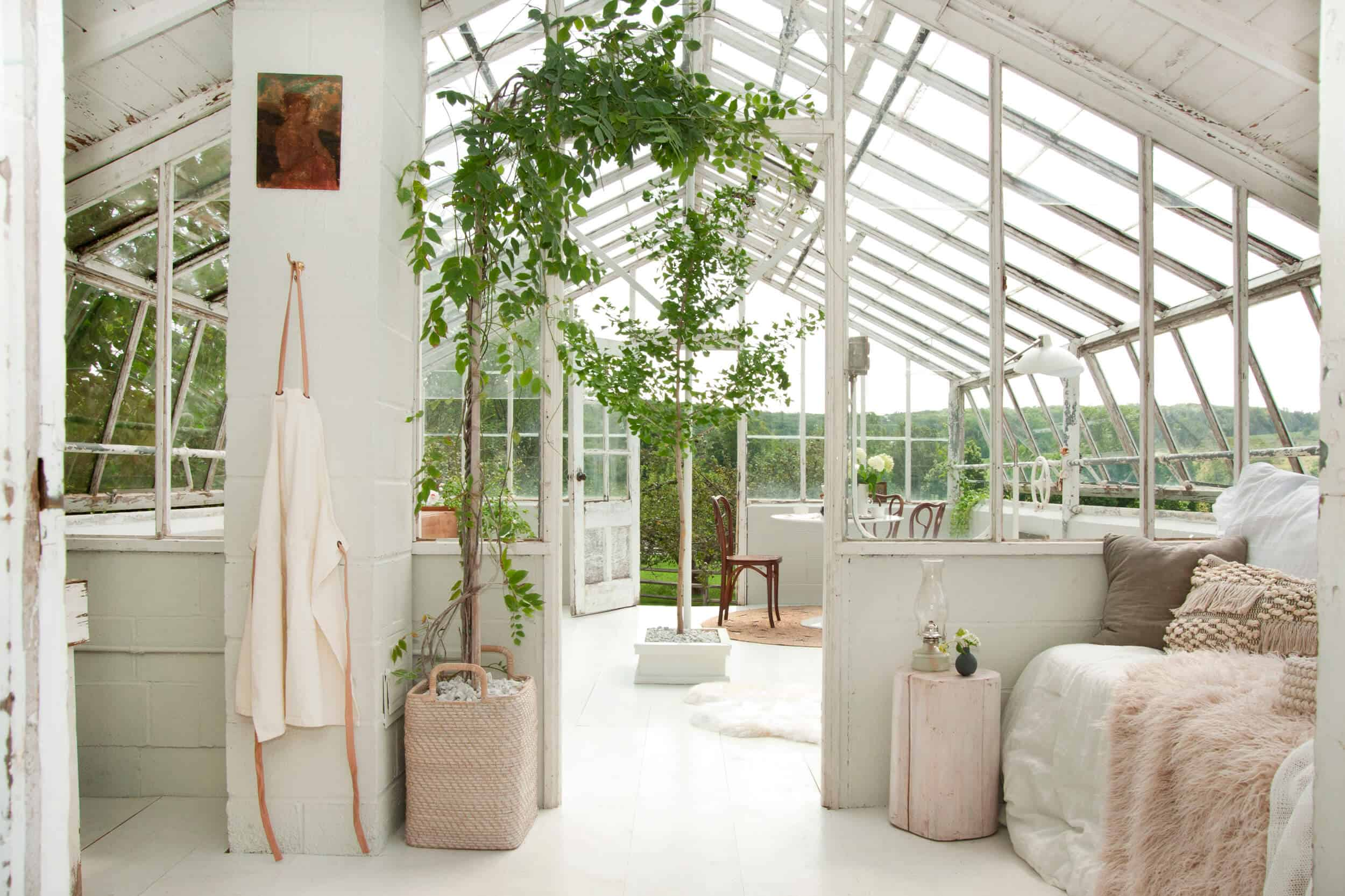 Emily Henderson Samsung The Frame My Scandinavian Home Greenhouse 31