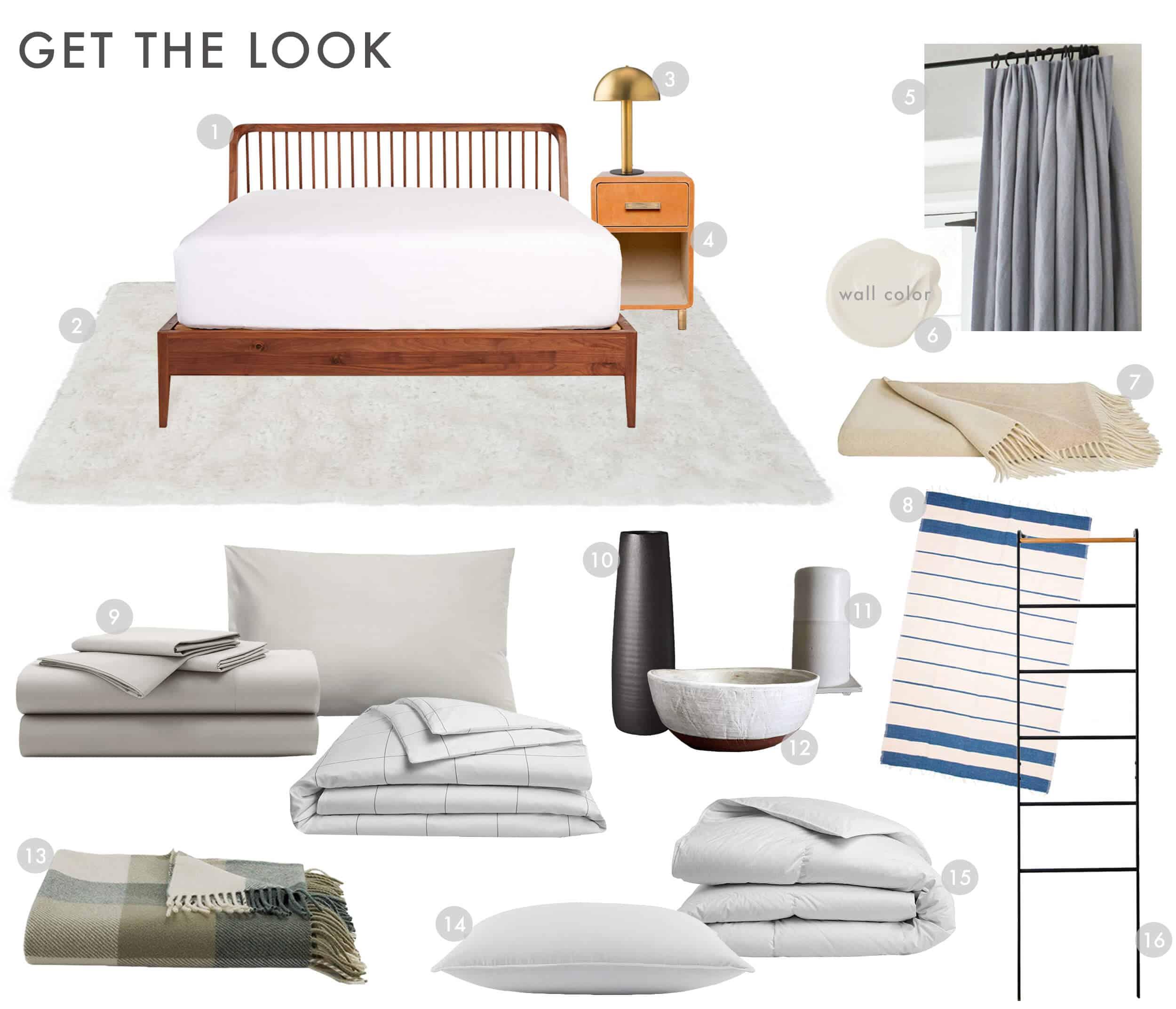 Emily Henderson Brooklinen Modern Traditional Bedding Luxe Sheet Set Get The Look 01