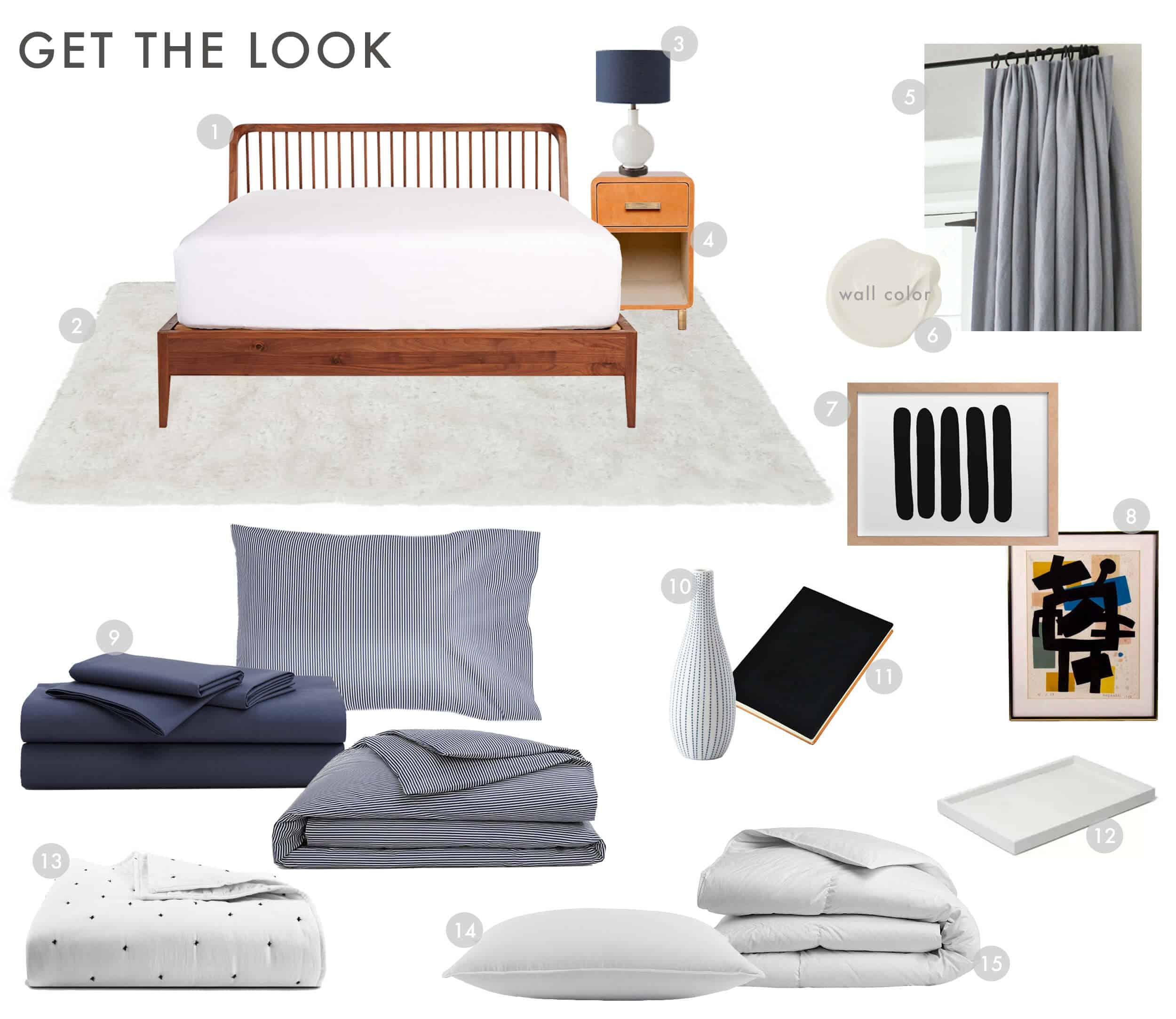 Emily Henderson Brooklinen Modern Traditional Bedding Luxe Sheet Set Get The Look 02