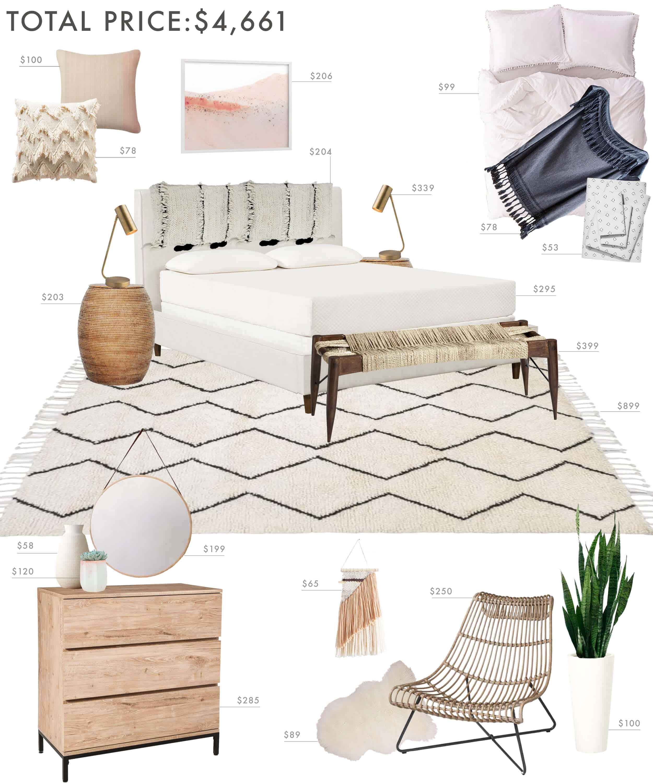 Emily Henderson Budget Room Bedroom Boho 50001