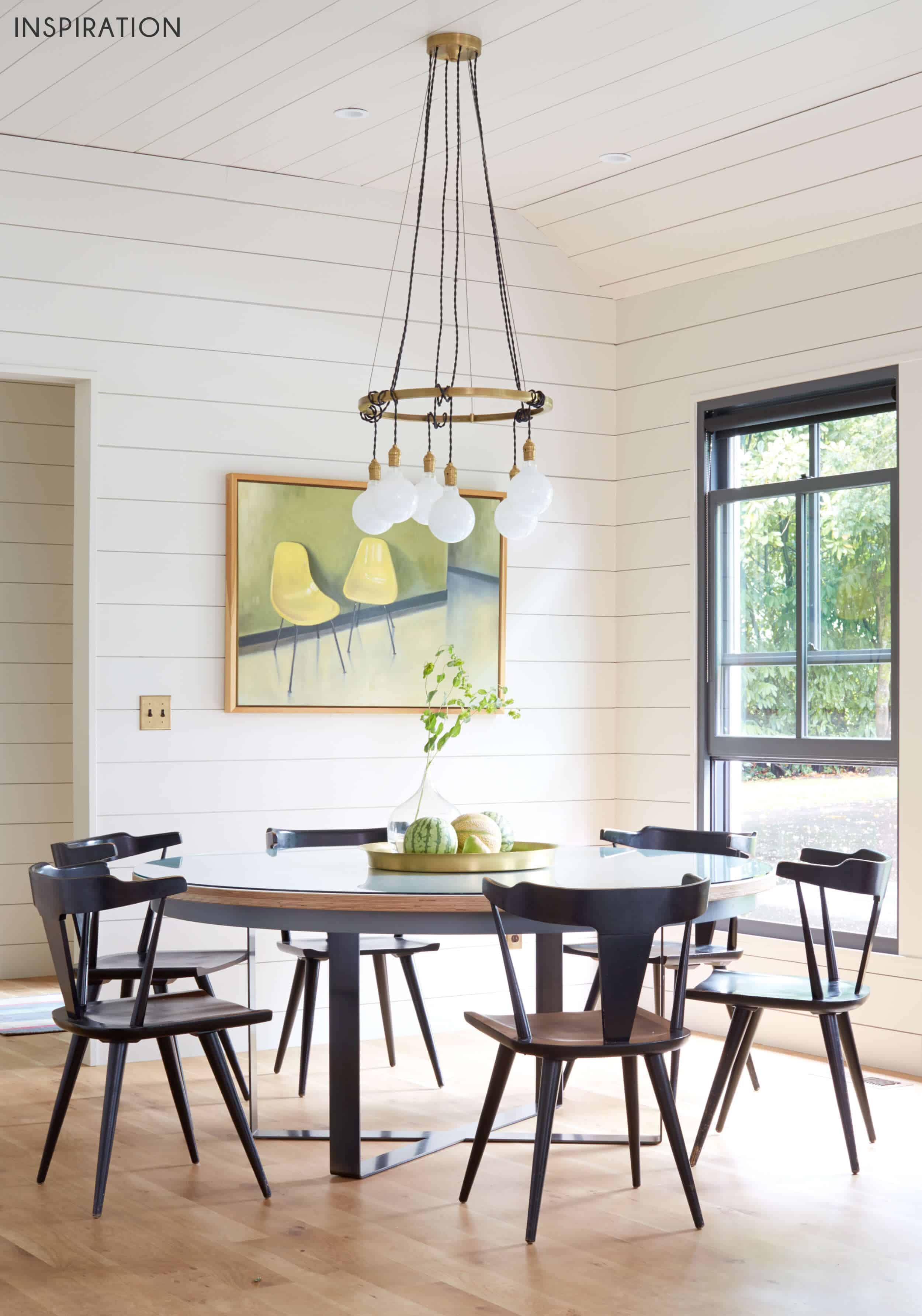 Emily Henderson Griffith Park Home Traditional Italian Mid Century Dining Nook Inspiration