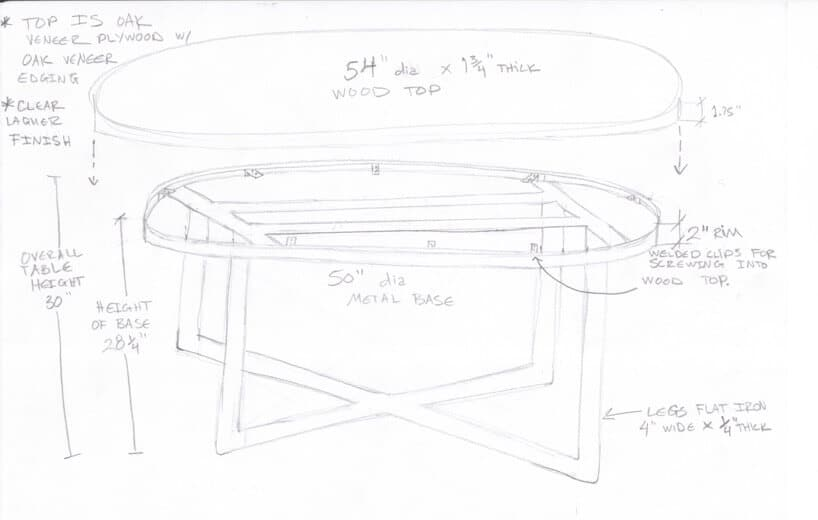 Emily Henderson Griffith Park Home Traditional Italian Mid Century Dining Nook Table Drawing