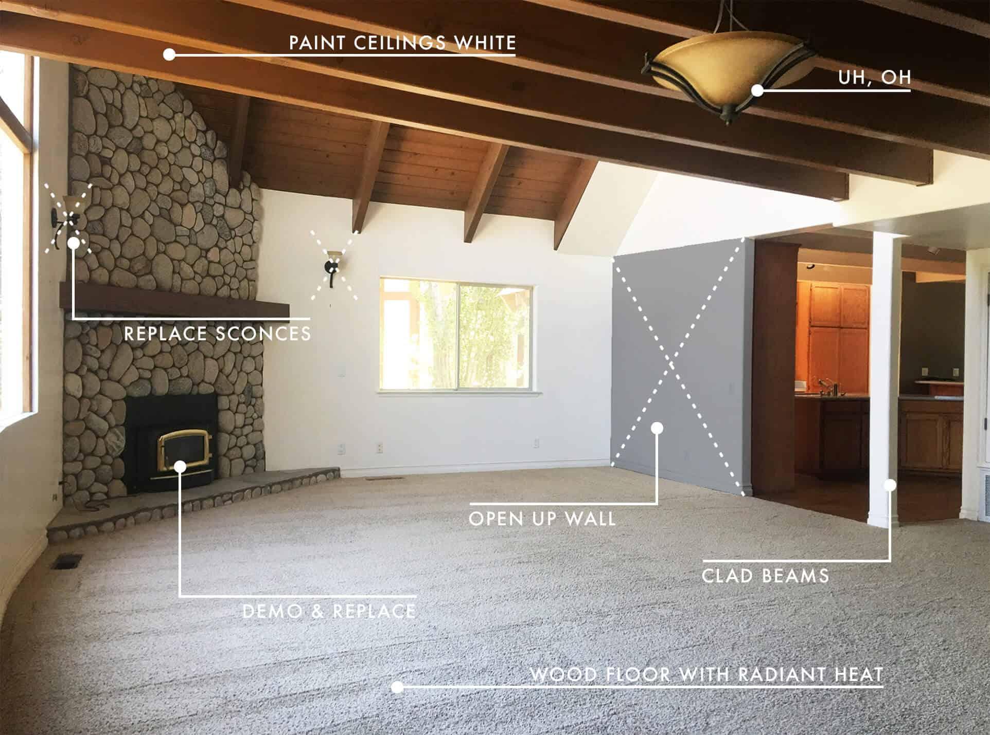 Emily Henderson Lake House Before Living Room 1 1 New 2