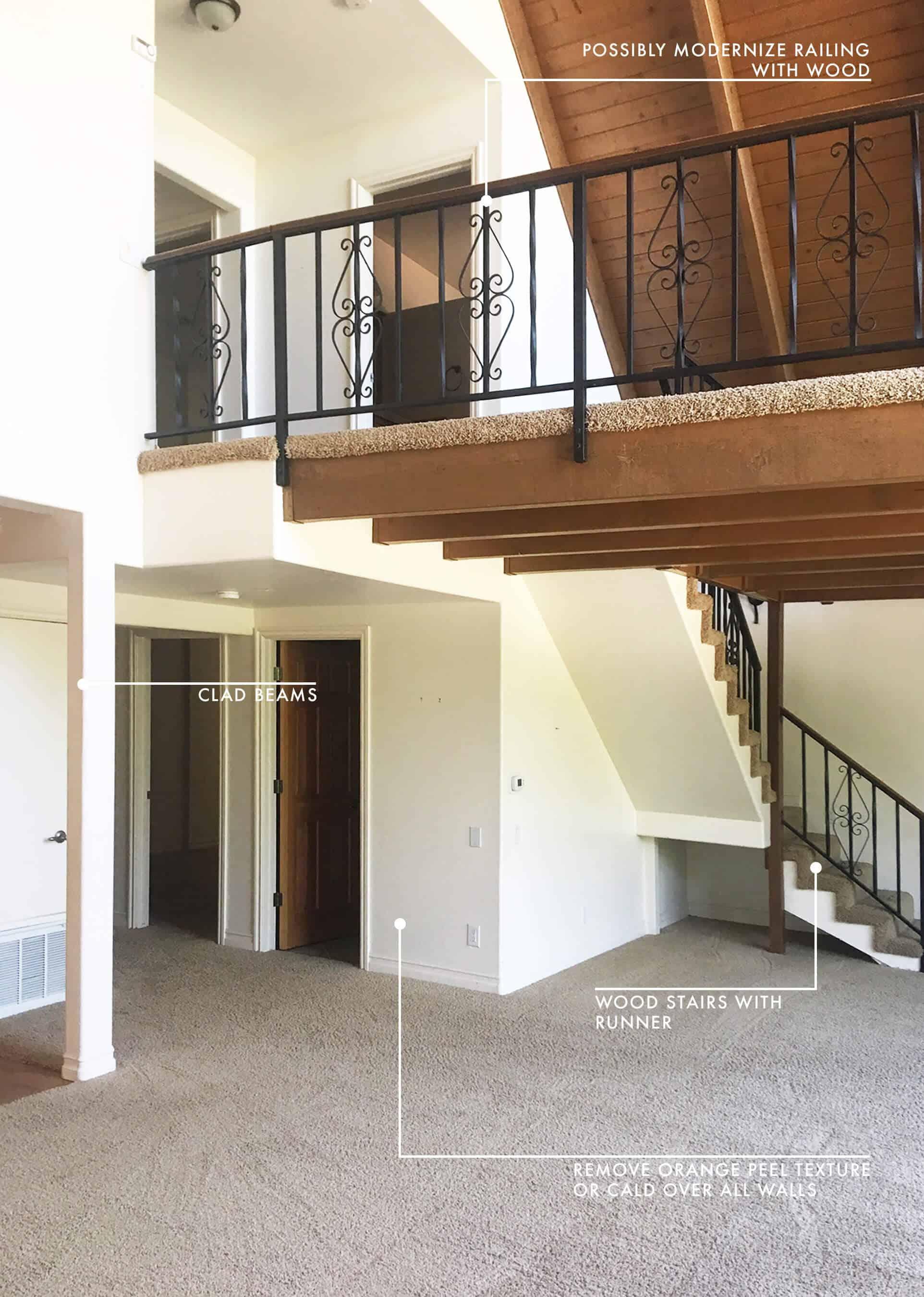 Emily Henderson Lake House Before Living Room 3 New 11
