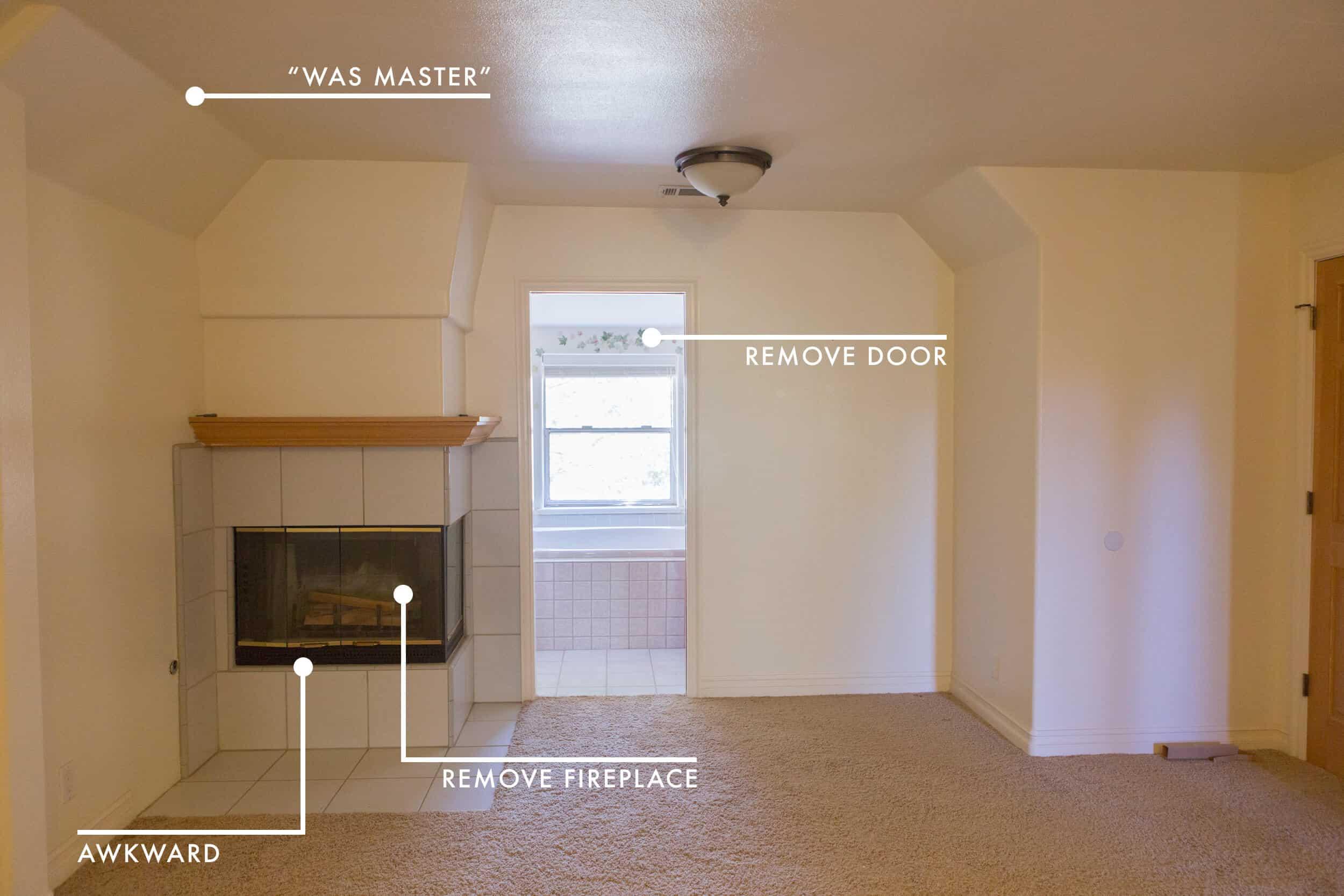 Emily Henderson Lake House Before Master Bedroom 3 1 New 2