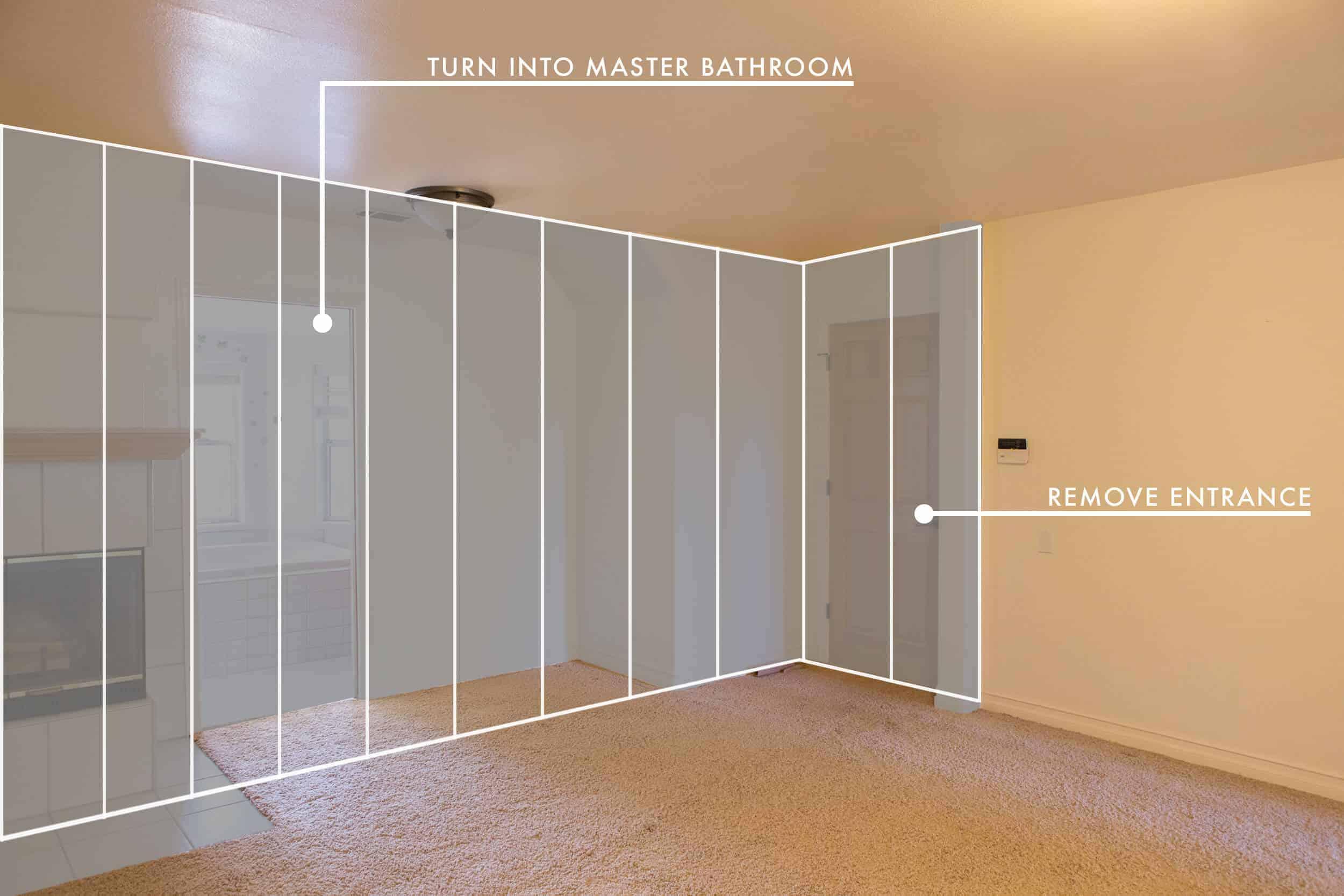 Emily Henderson Lake House Before Master Bedroom 4 1 New 2