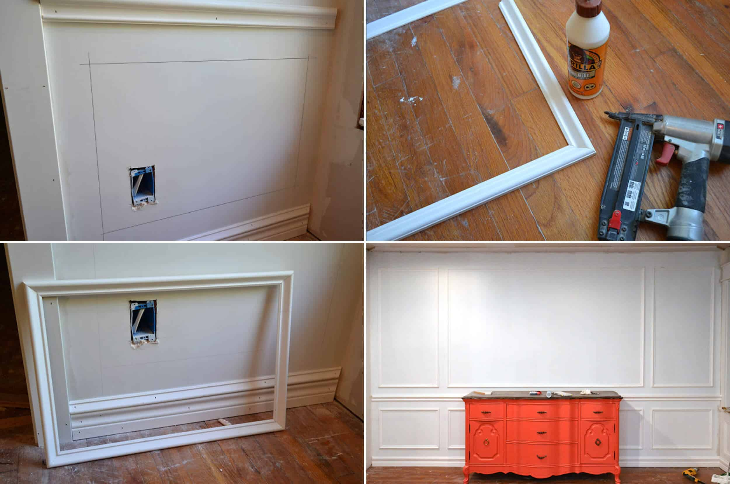 How To Add Character And Charm To Boring Architecture And Houses Applied Moulding Diy