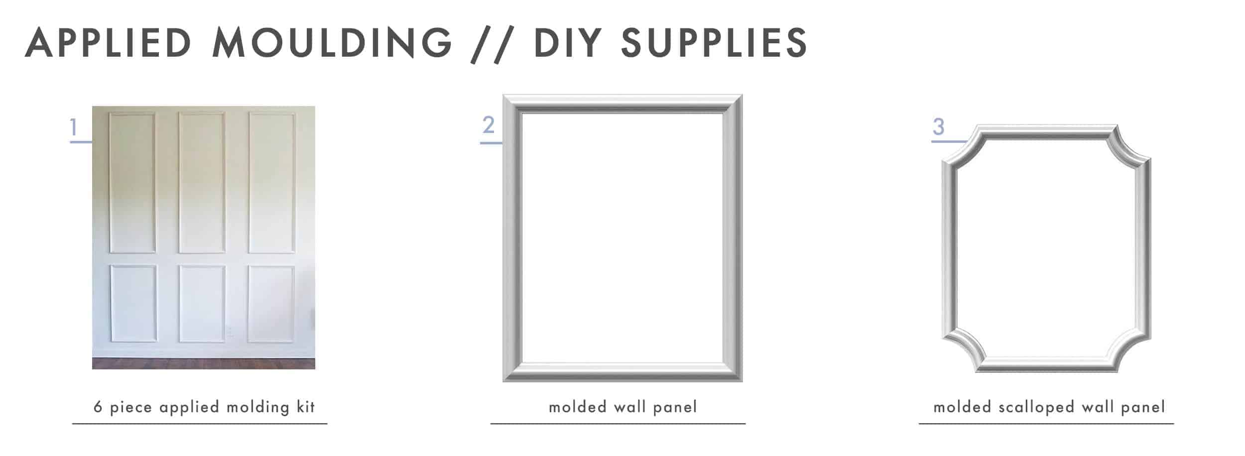 How To Add Character And Charm To Boring Architecture And Houses Applied Moulding Diy Supplies1