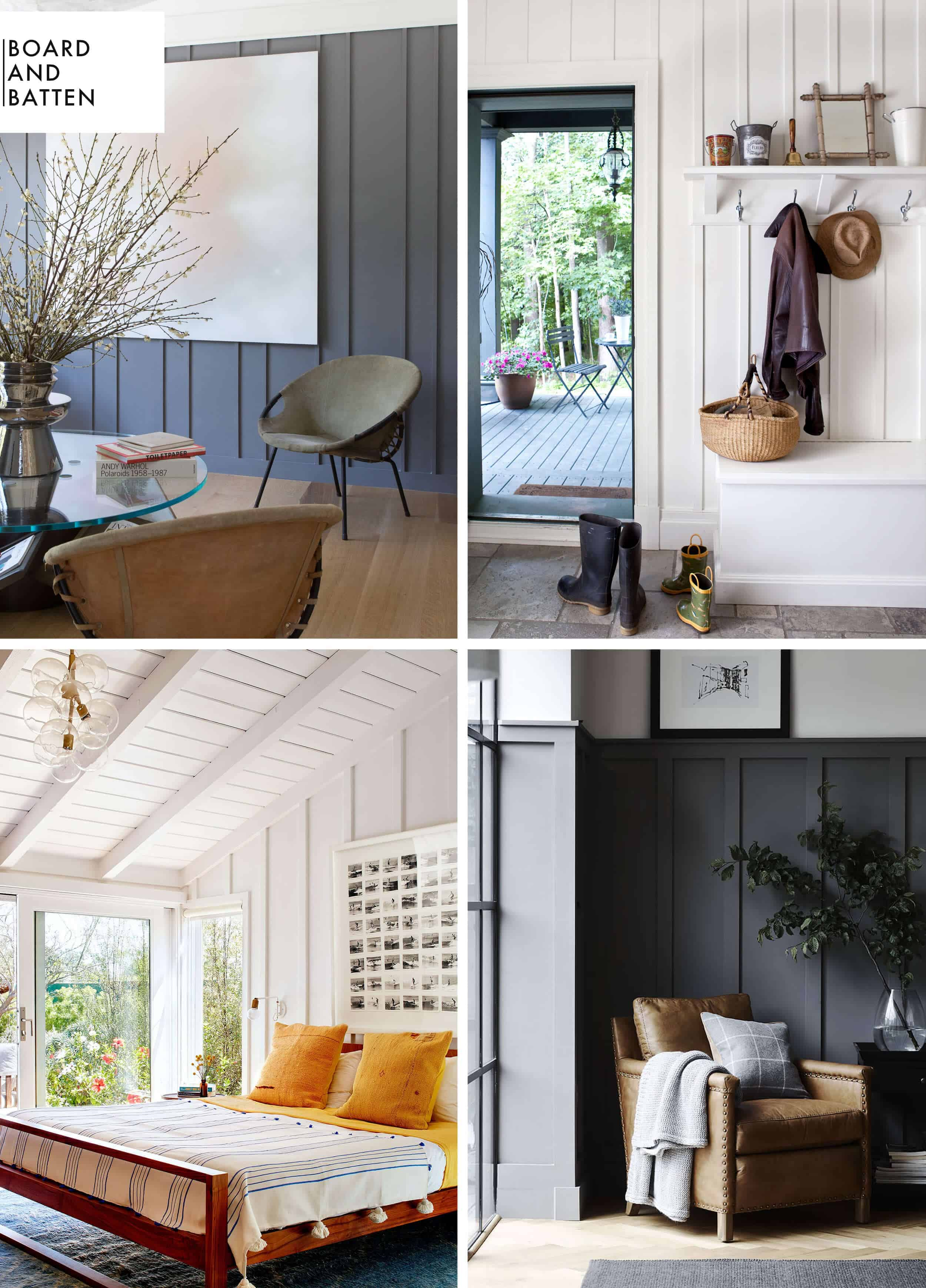 How To Add Character And Charm To Boring Architecture And Houses Board And Batten Moulding