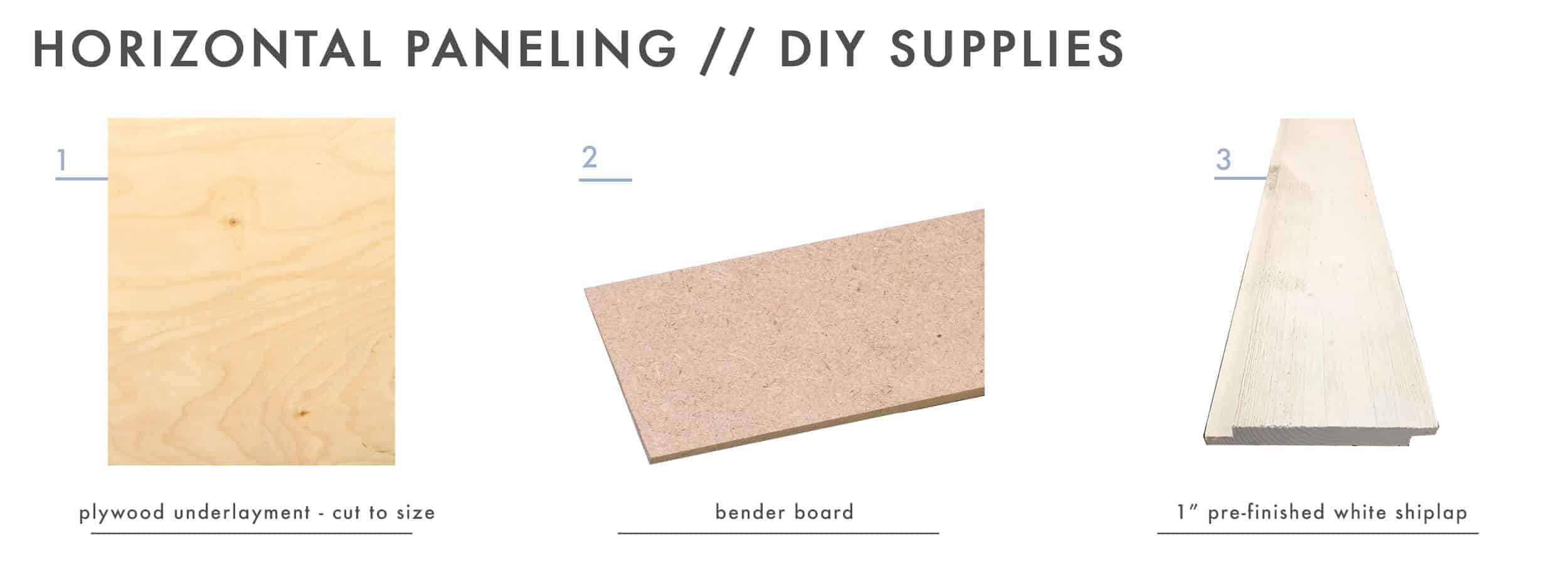 How To Add Character And Charm To Boring Architecture And Houses Horizontal Paneling Diy Supplies 01