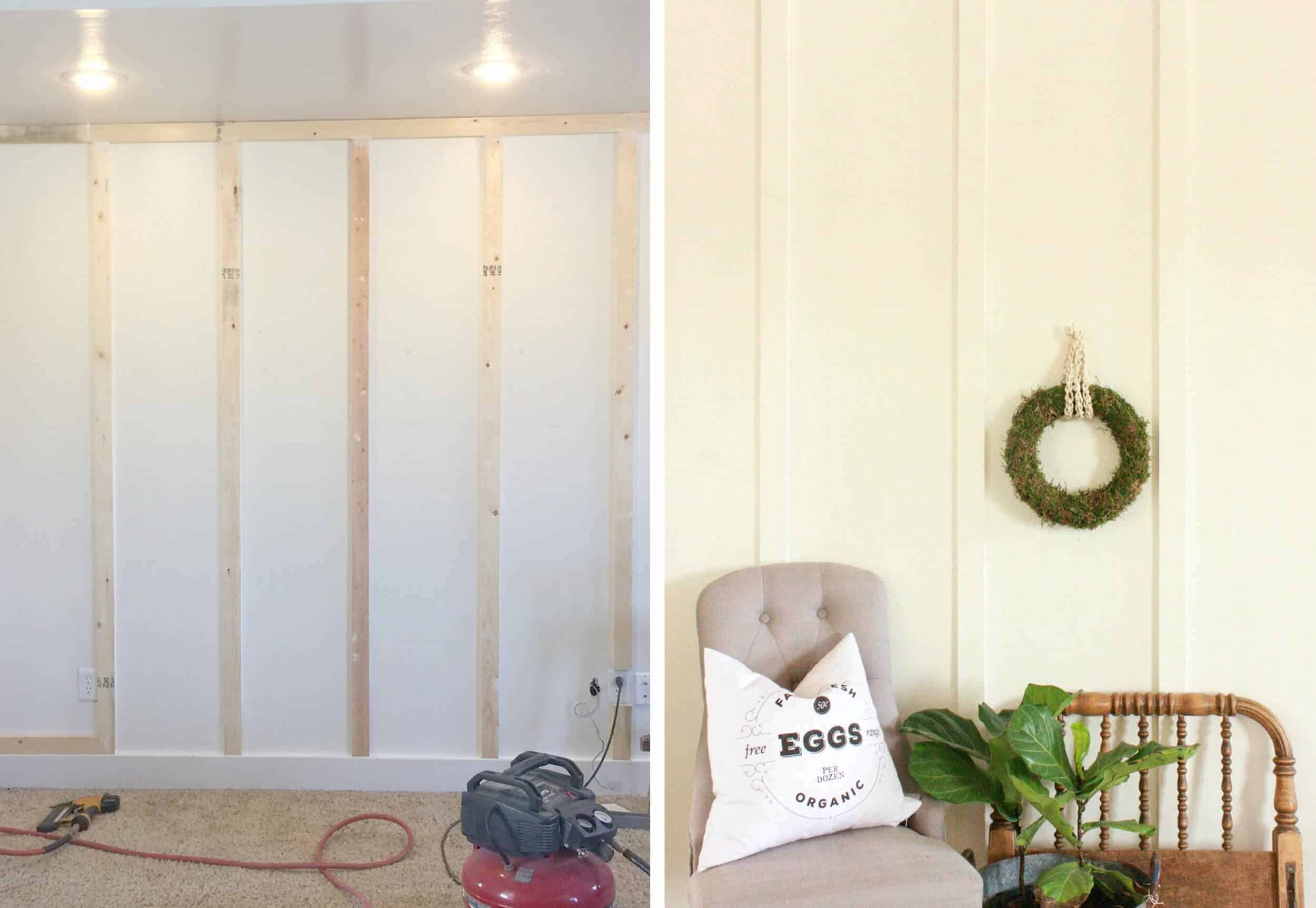 How To Add Character And Charm To Boring Architecture And Houses Modern Vertical Strip Moulding Diy