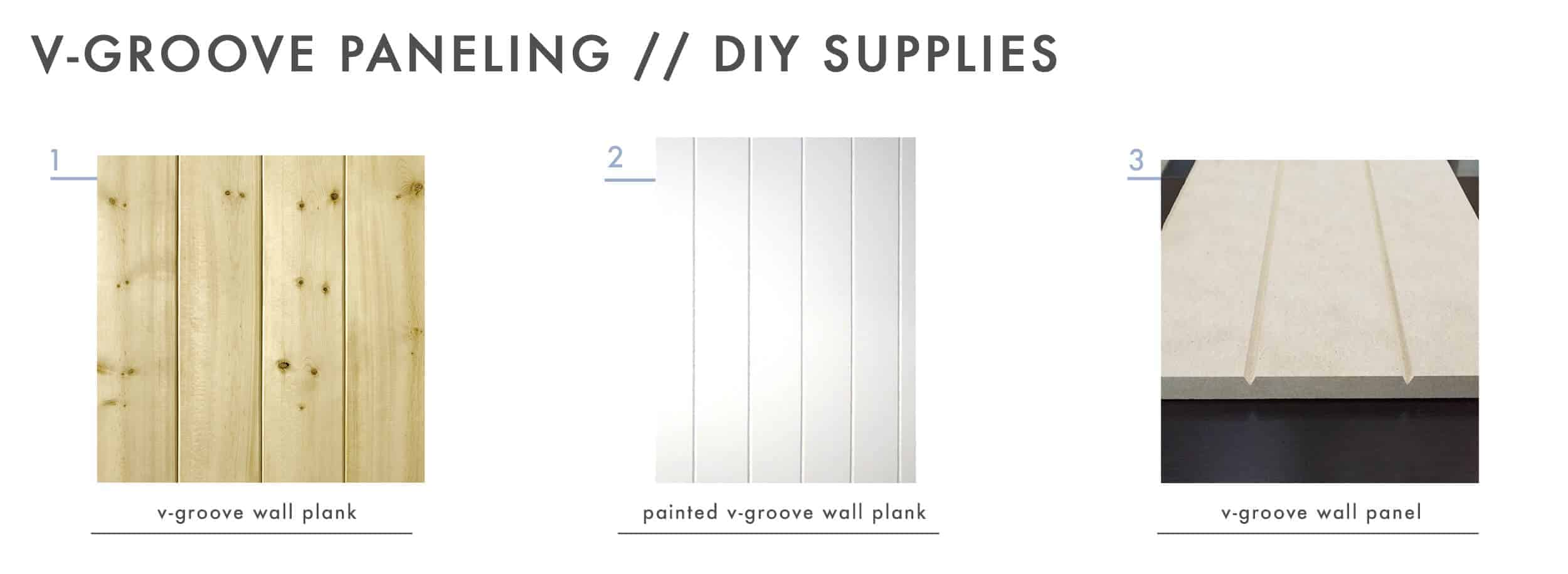 How To Add Character And Charm To Boring Architecture And Houses V Groove Paneling Diy Supplies