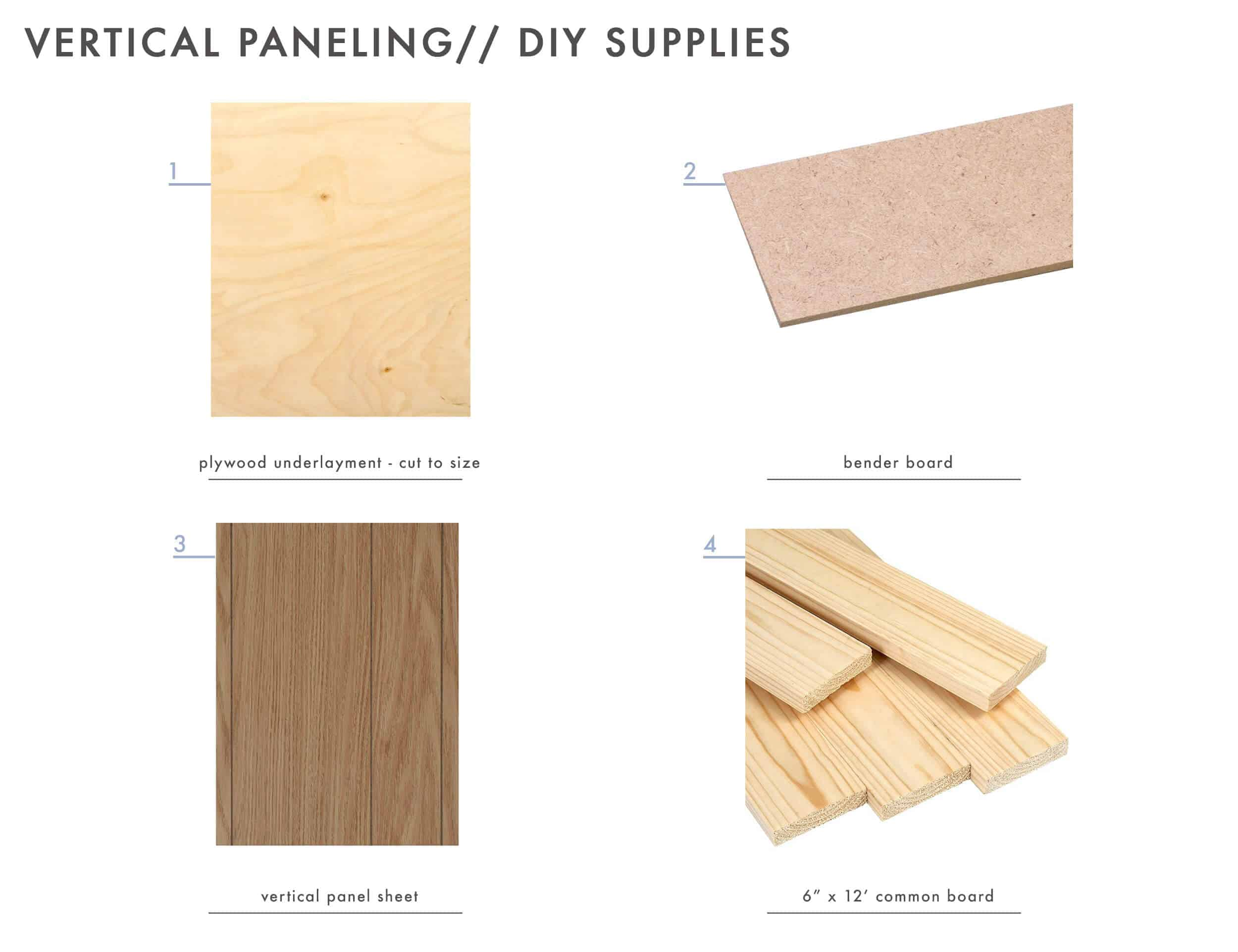 How To Add Character And Charm To Boring Architecture And Houses Vertical Paneling Diy Supplies 02