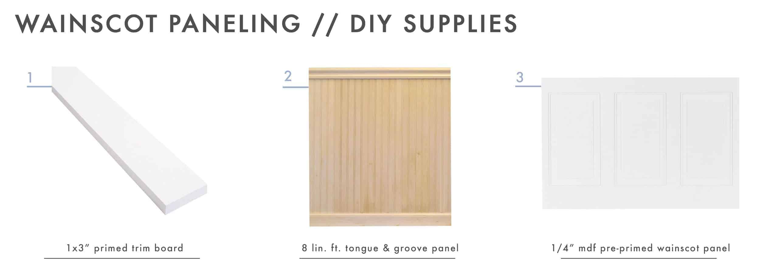 How To Add Character And Charm To Boring Architecture And Houses Wainscot Paneling Diy Supplies