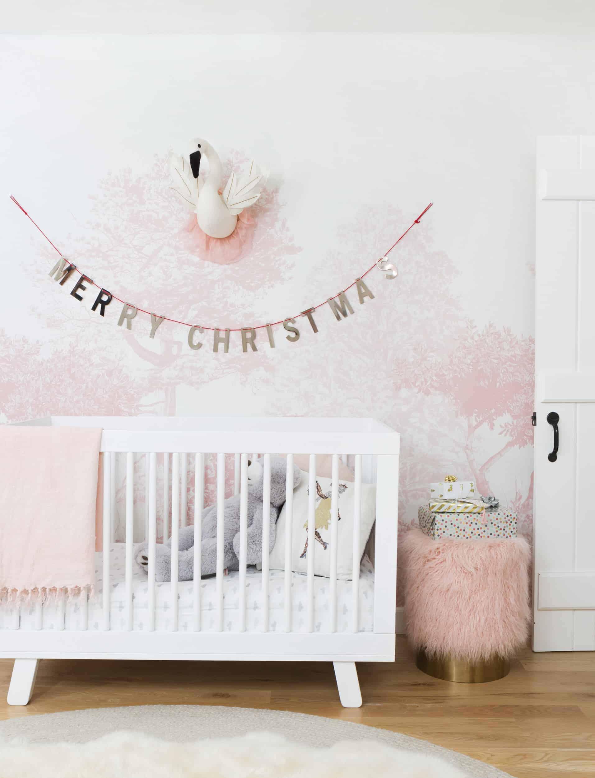 Emily Henderson Blush Rose Gold Christmas 18