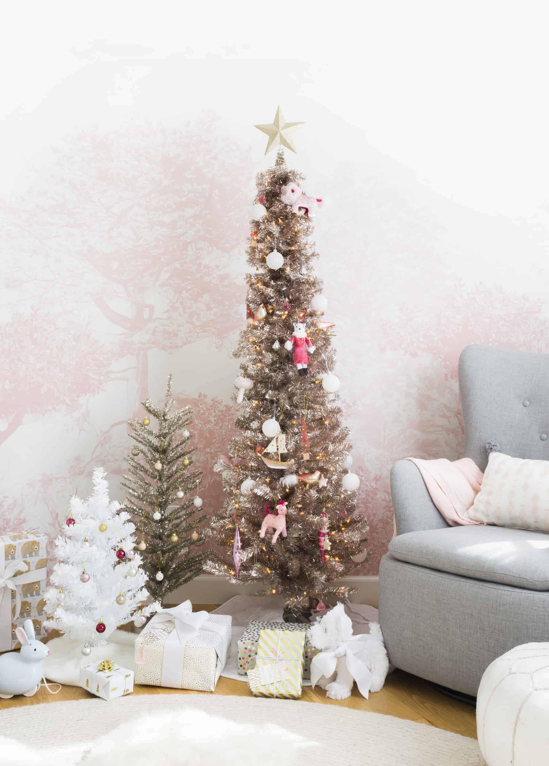 Emily Henderson Blush Rose Gold Christmas 3
