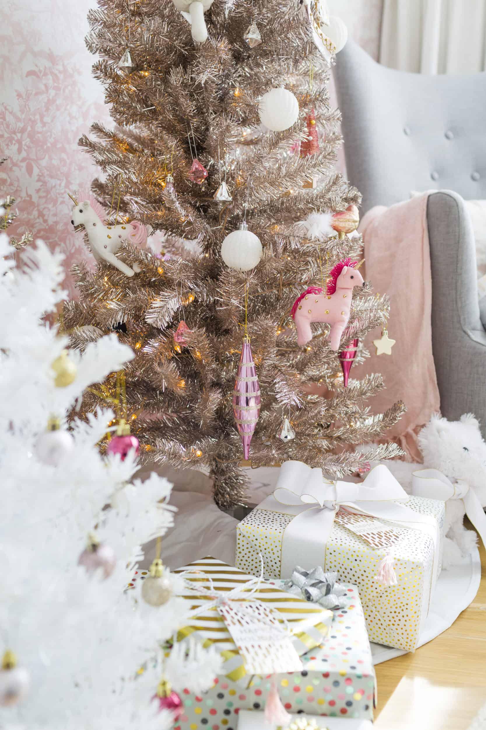 Emily Henderson Blush Rose Gold Christmas 4